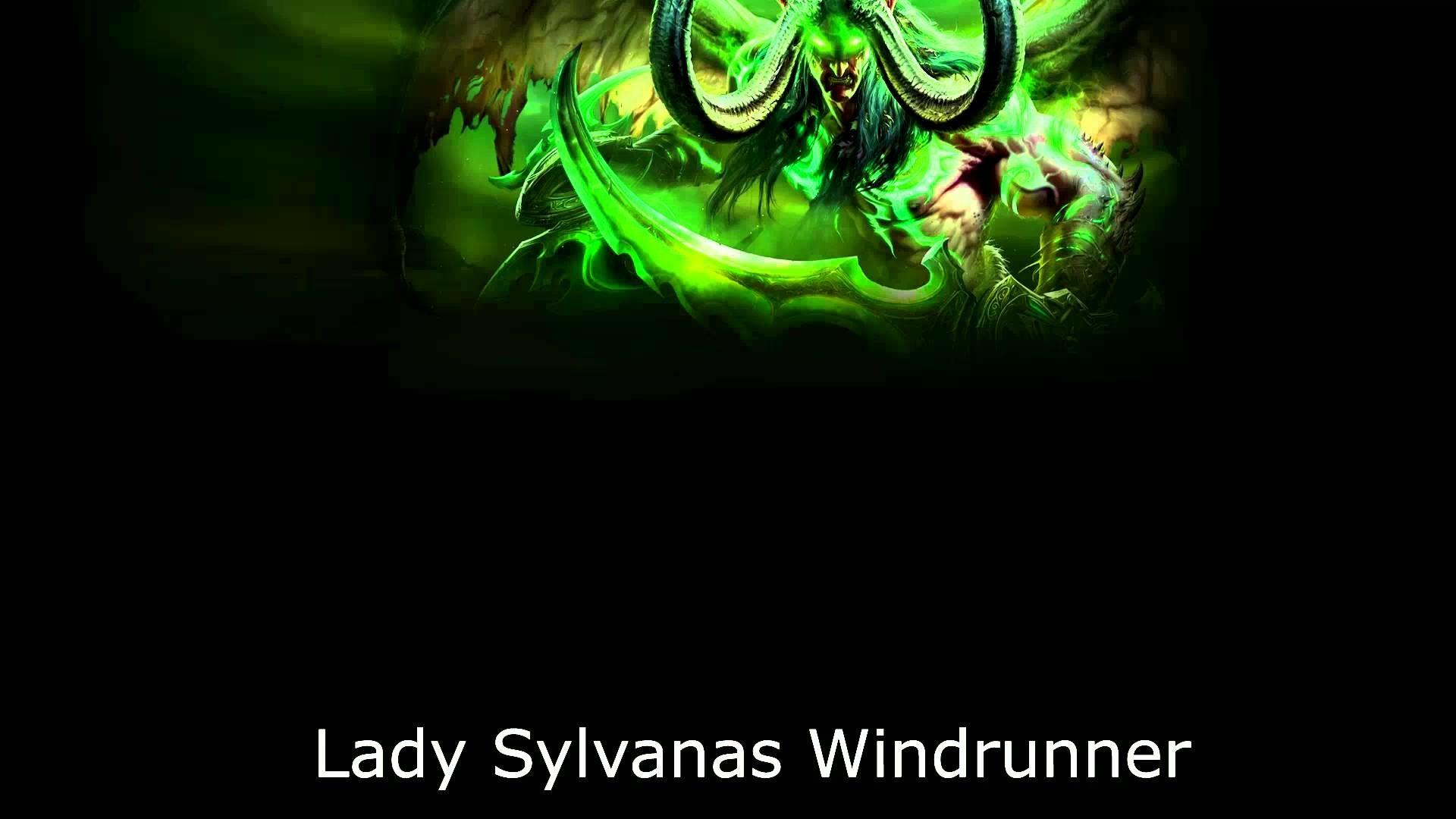 Lady Sylvanas Windrunner – Voice Over – Legion (Spoiler)