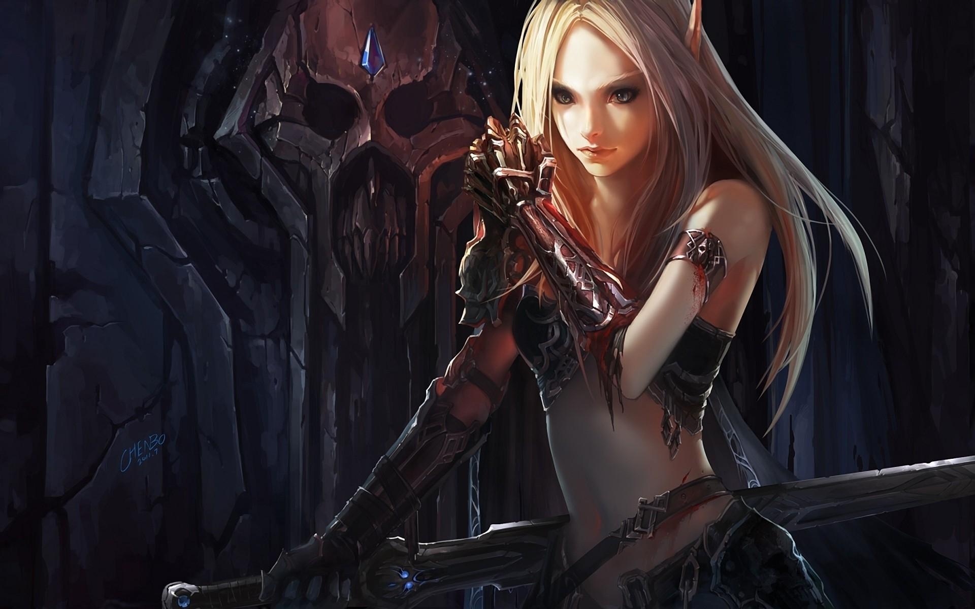 Wow Female Night Elf Rogue – 1280×960 – Wallpaper #2225 on .
