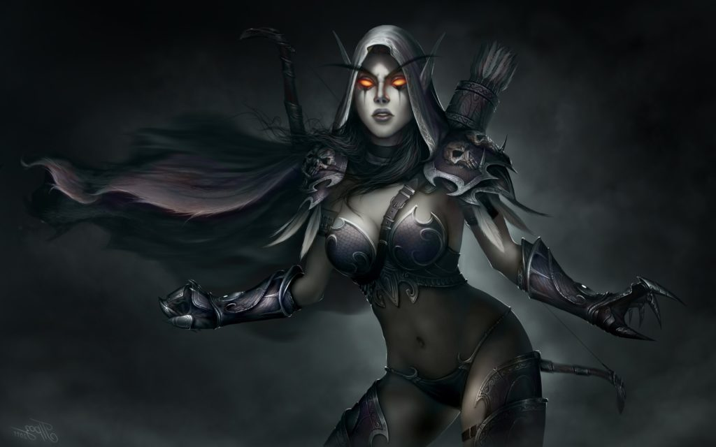 World of Warcraft Sylvanas Dark Lady Wallpapers HD / Desktop and Mobile  Backgrounds