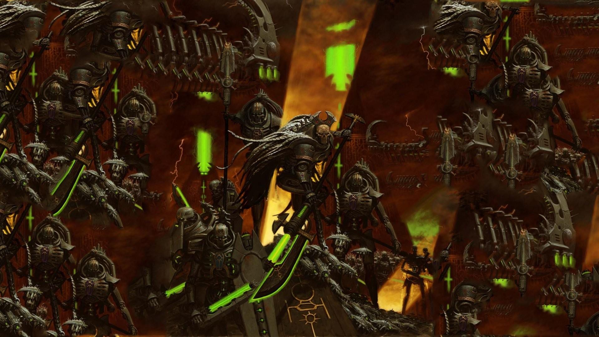 Necron – Warhammer 40,000 wallpaper – Game wallpapers – #28528