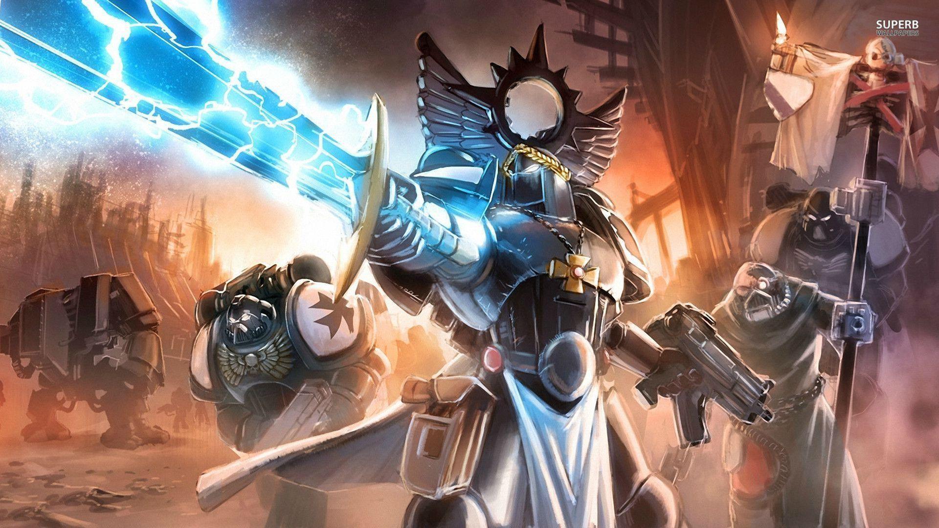 Warhammer 40,000: Space Marine wallpaper – Game wallpapers – #
