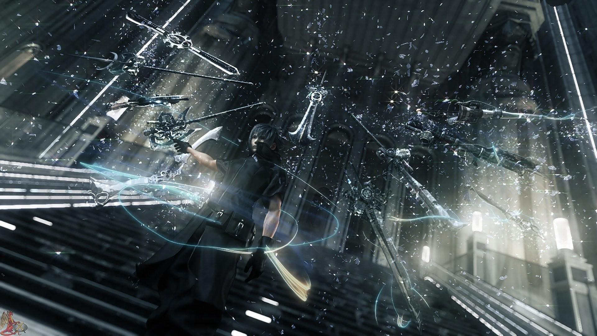 Noctis Phantom Weapons – Final Fantasy XV wallpaper