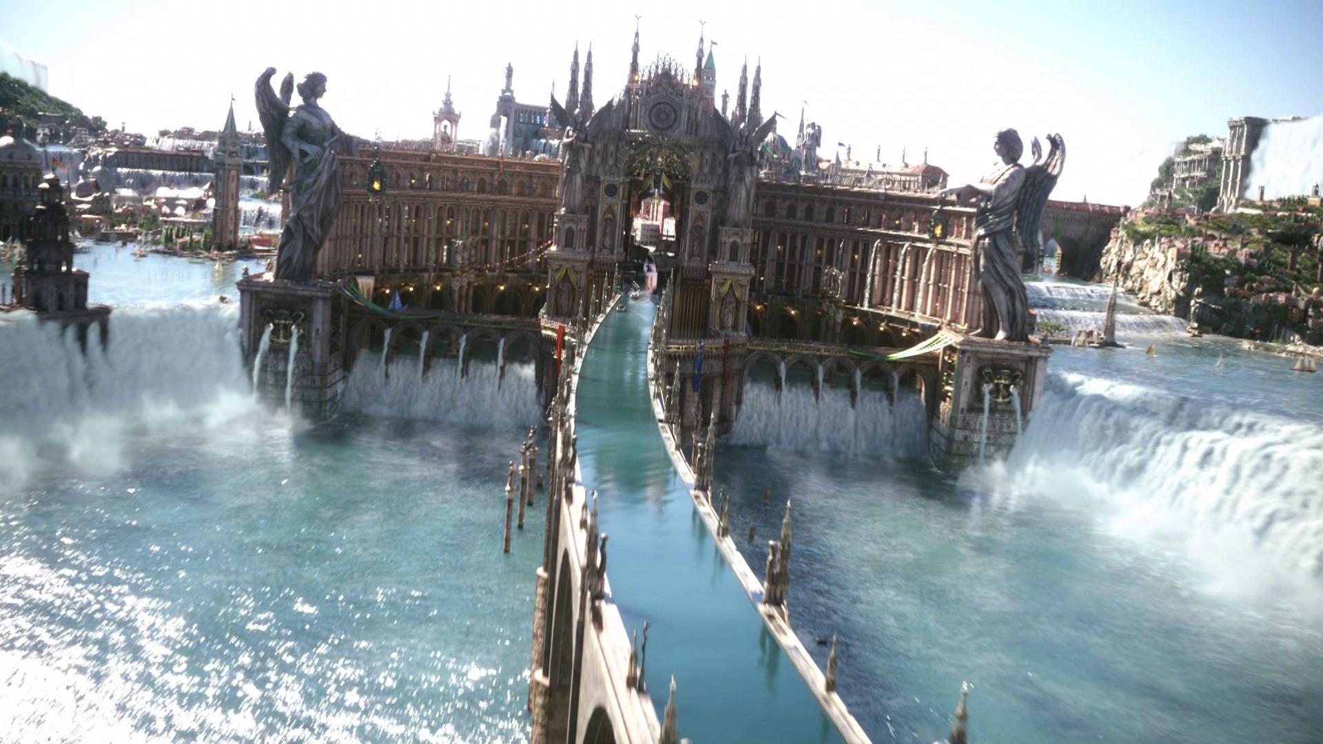 Altissia, capital of Accordo – Final Fantasy XV wallpaper