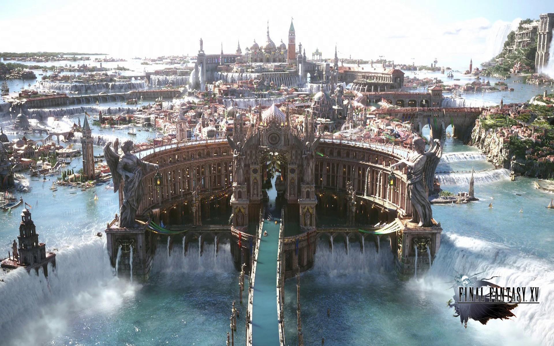 Final Fantasy XV game HD wallpaper