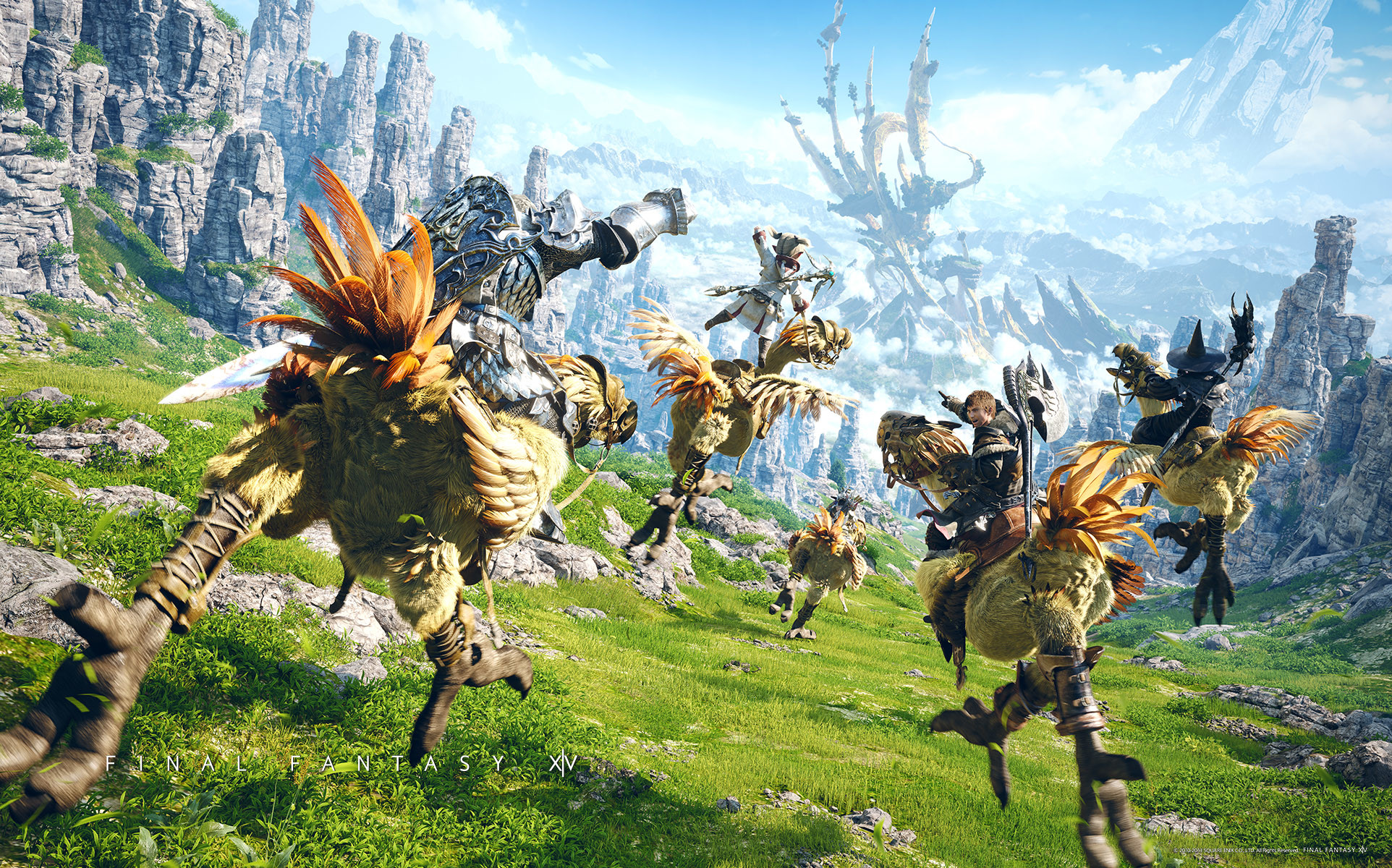 11 Chocobo (Final Fantasy) HD Wallpapers   Backgrounds – Wallpaper Abyss