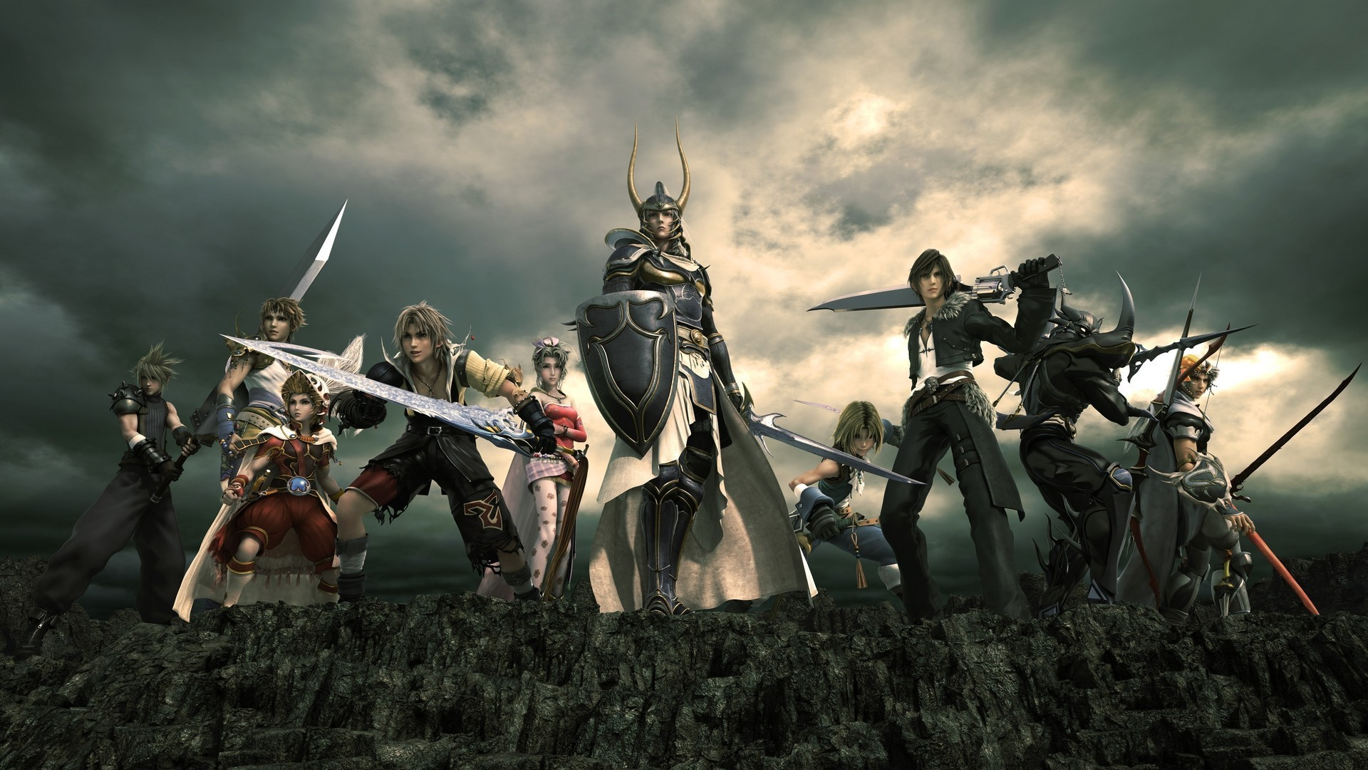 All Heroes on Final Fantasy XV Game Wallpaper