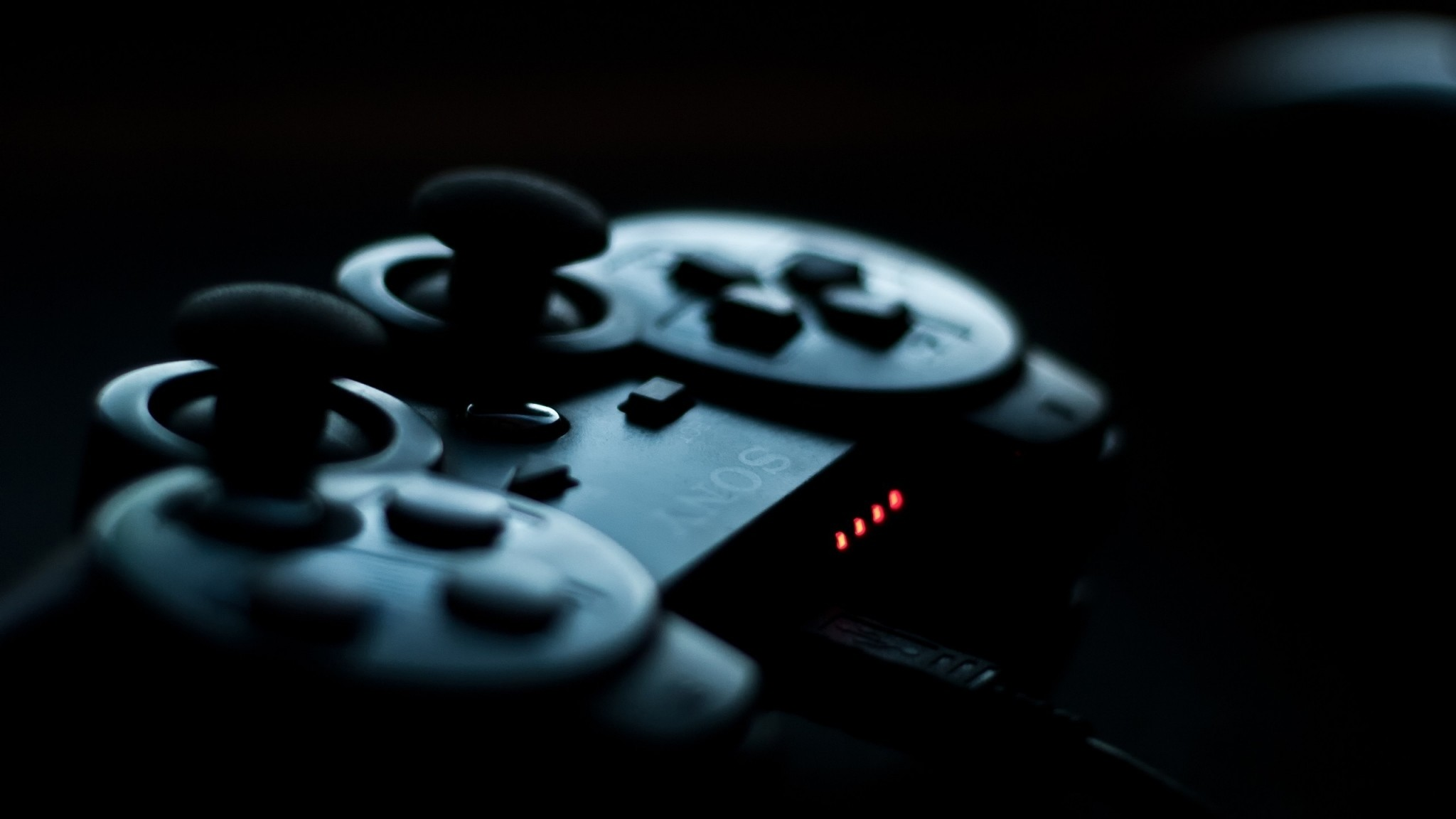 Preview wallpaper joystick, sony, playstation, game 2048×1152