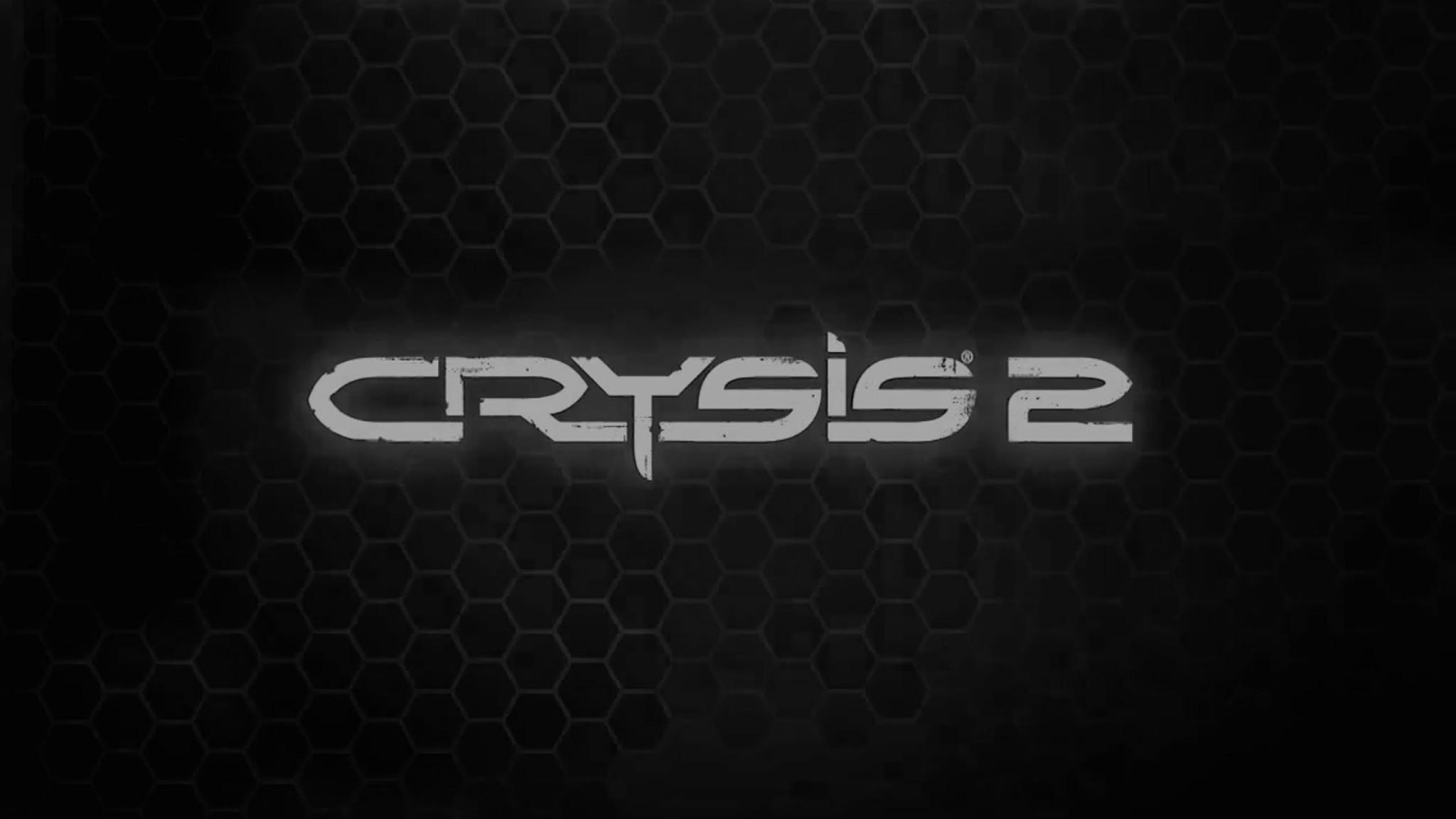 Wallpaper crysis 2, name, game, font, background
