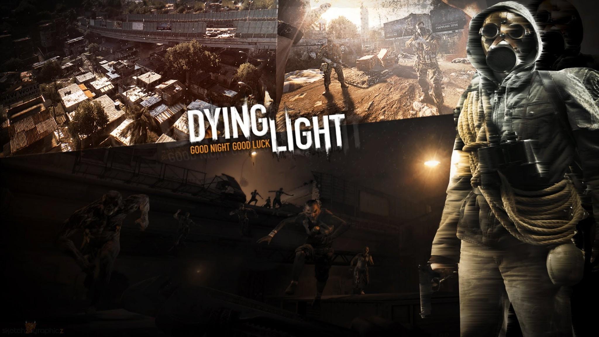Wallpaper dying light, survival horror, action, techland,  cross-platform computer