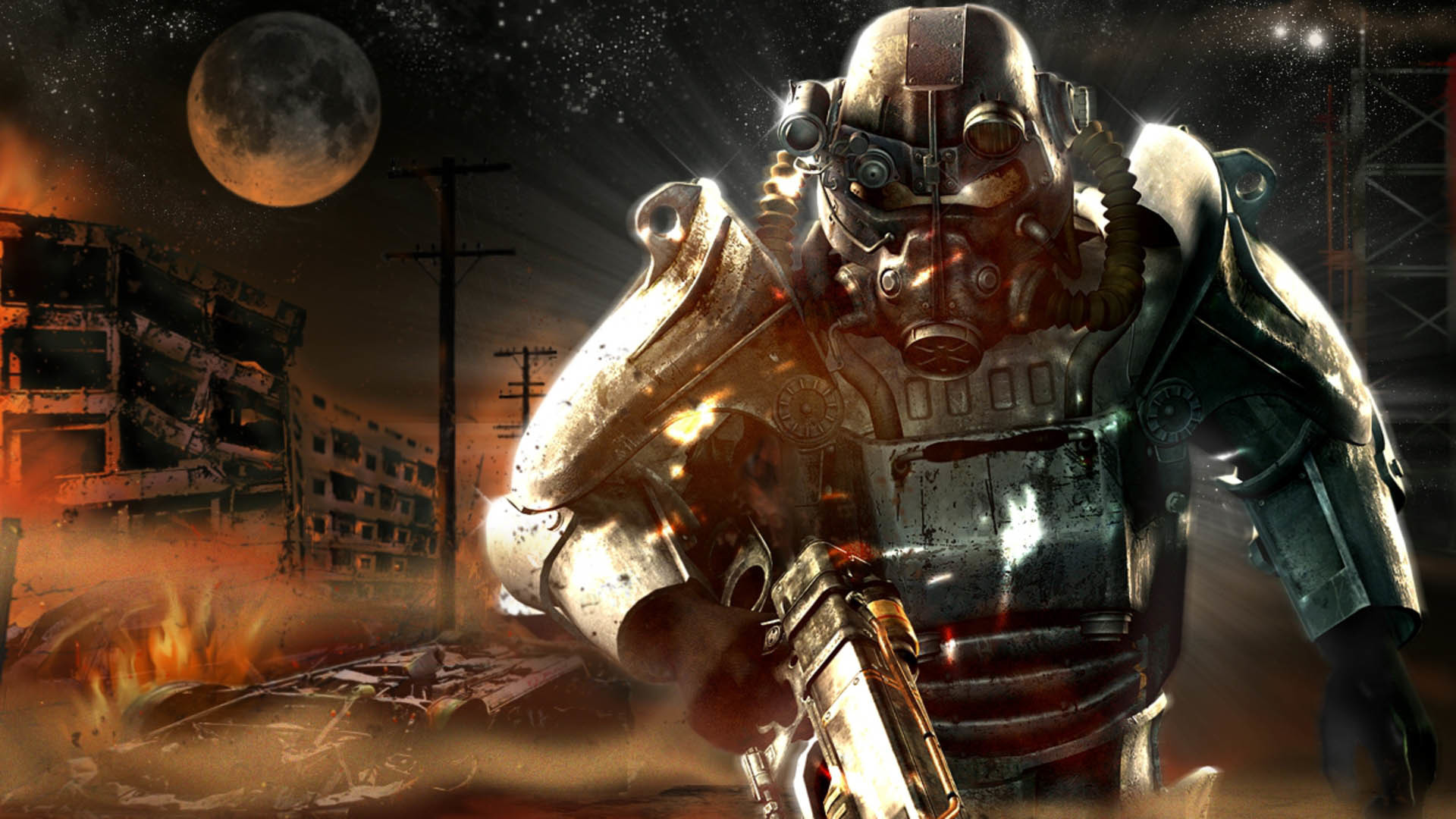 Fallout Classic Armor wallpaper