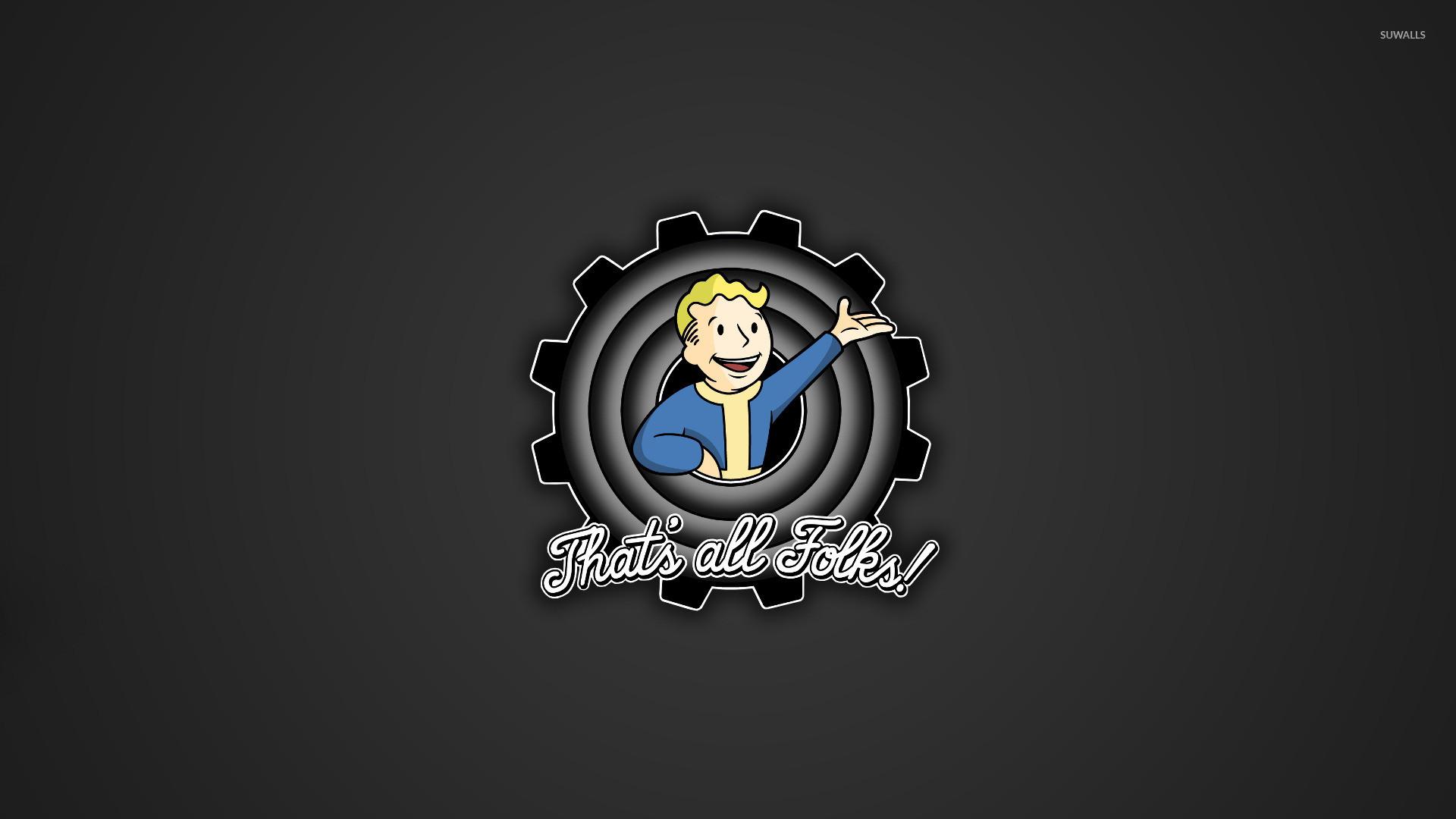 Fallout 4: Vault 111 wallpaper