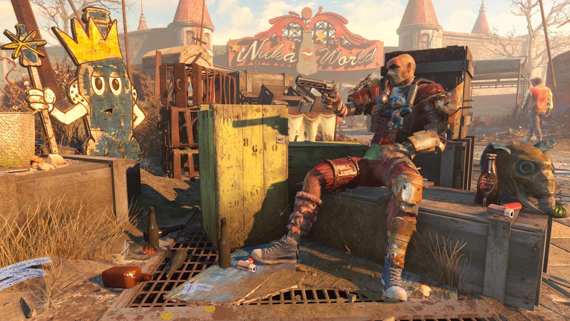 Video Game – Fallout 4 Fallout 4: Nuka-World Wallpaper