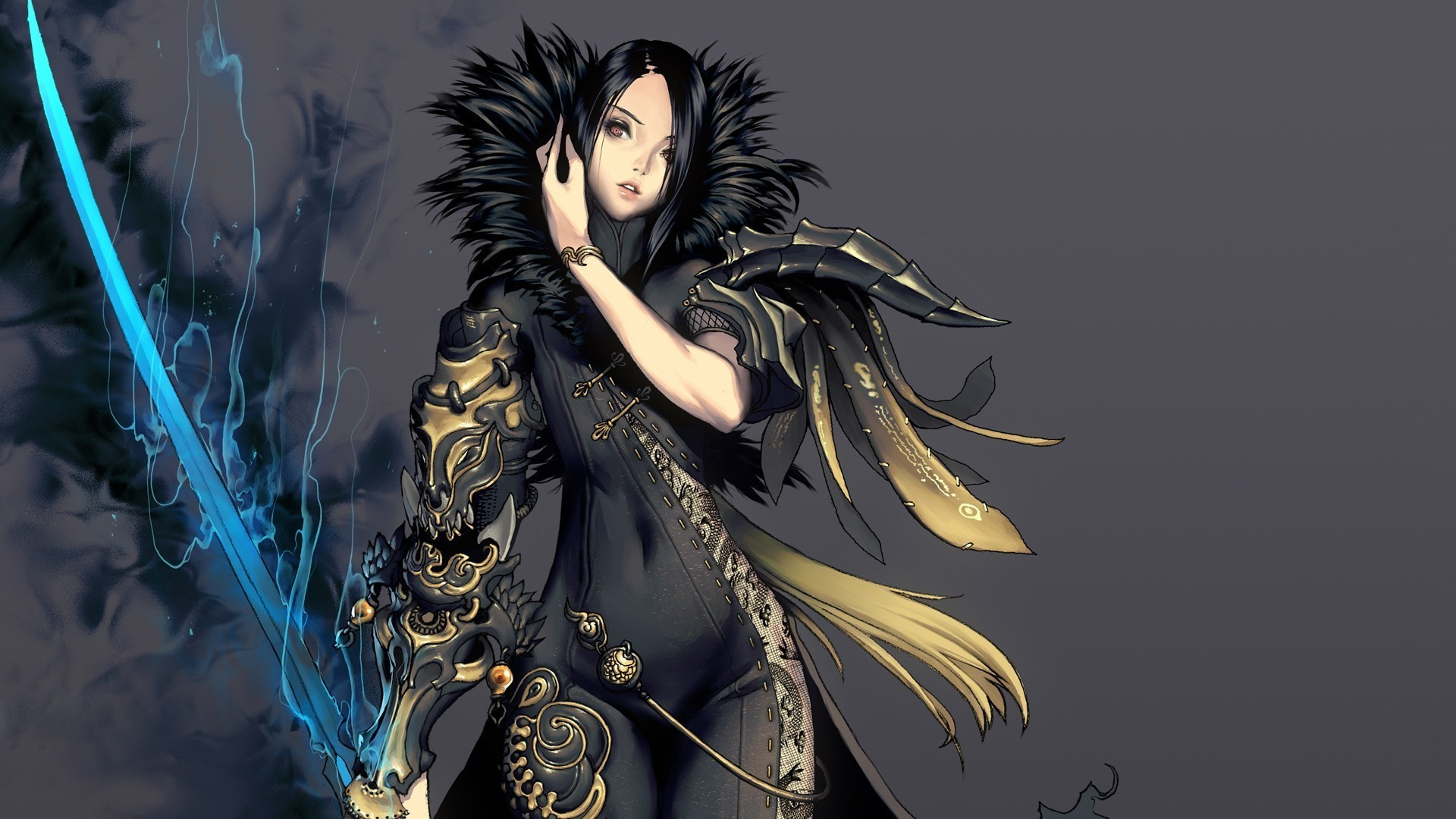 Blade And Soul, Anime Girls, Sword Wallpapers HD / Desktop and Mobile  Backgrounds