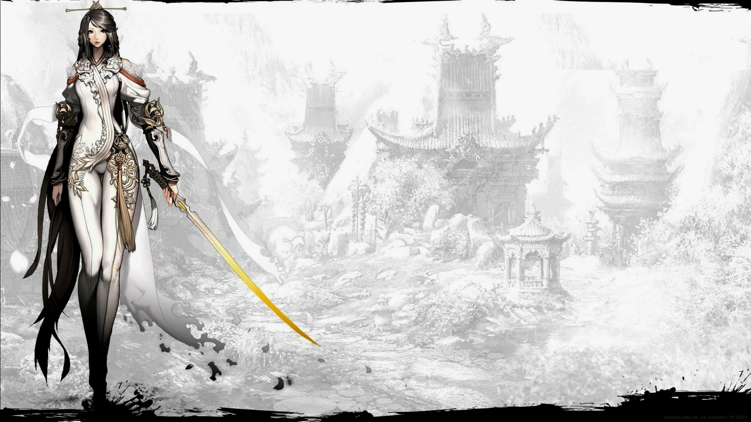 BLADE And SOUL asian martial arts action fighting 1blades online mmo rpg  Beulleideu aen anime fantasy perfect wallpaper | | 679551 |  WallpaperUP