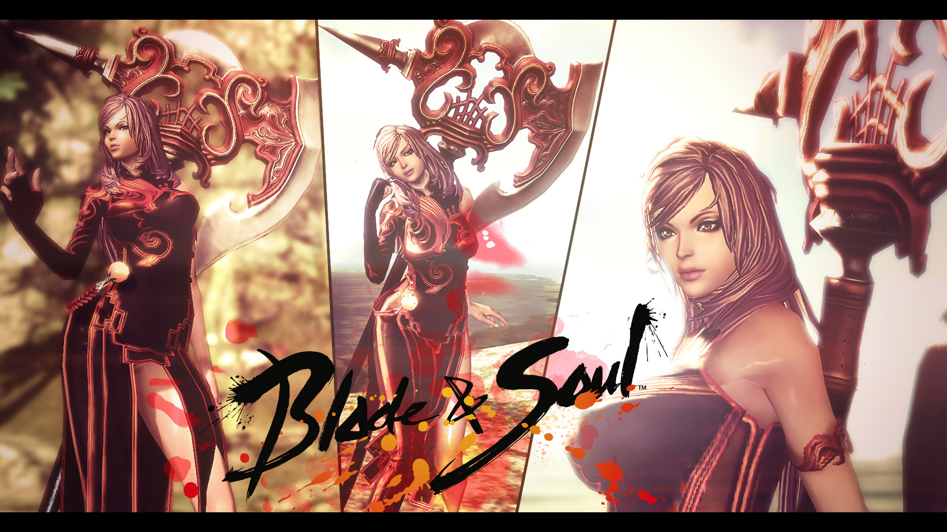 … Blade and Soul wallpaper – my character by kampinis