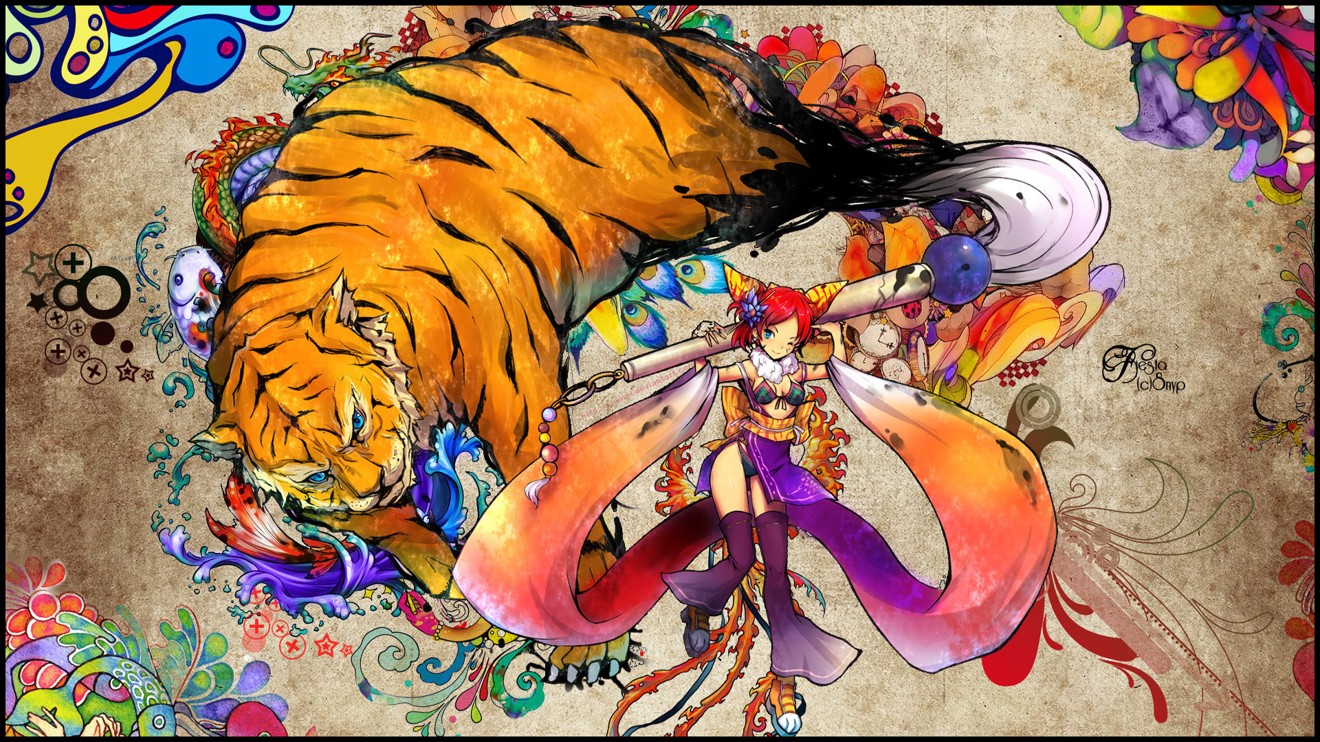 Blade and Soul Wallpaper by SNYP