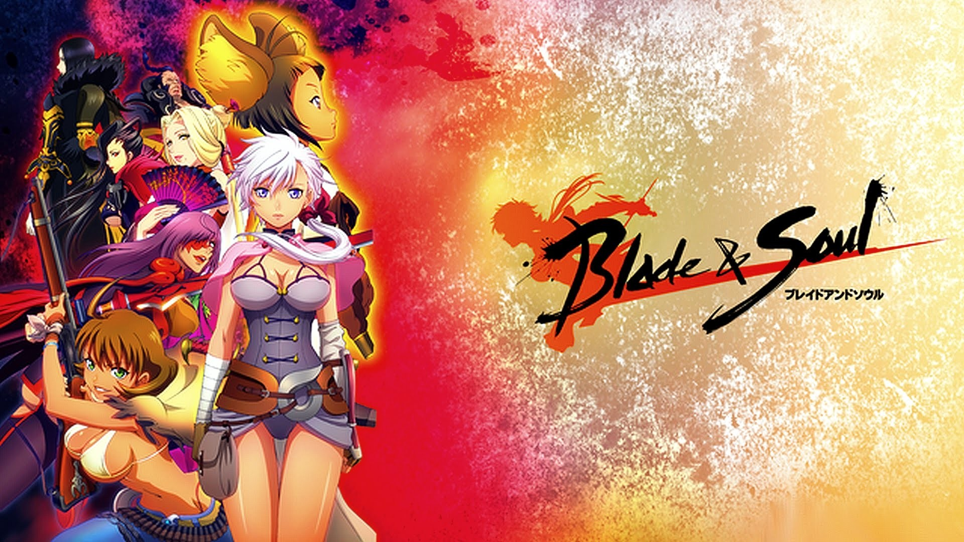 Hello Kitty Pictures Glitter Wallpaper. 2017 Blade And Soul Anime Wallpaper
