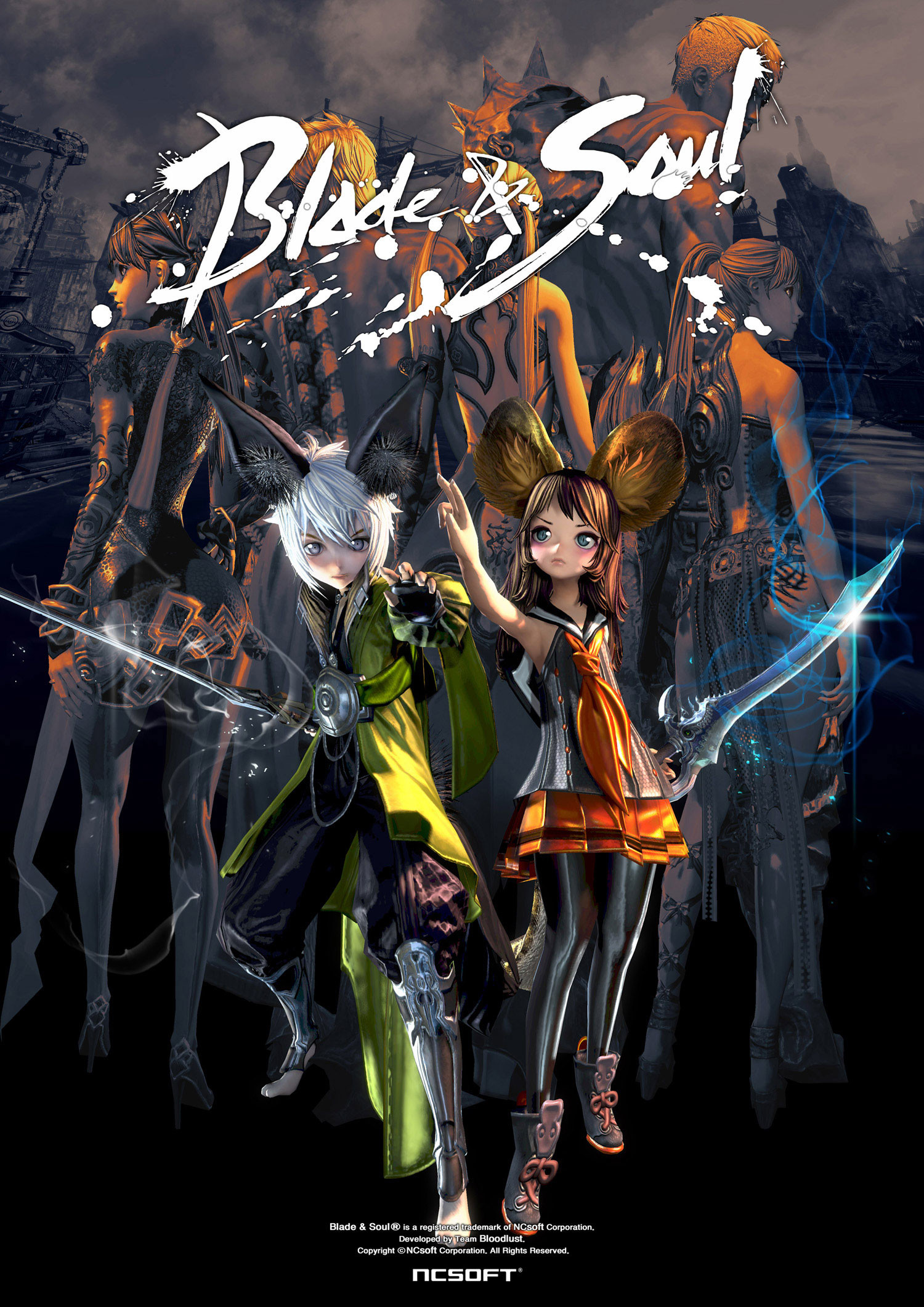 Blade and Soul Lyn Blade Master Wallpaper 02