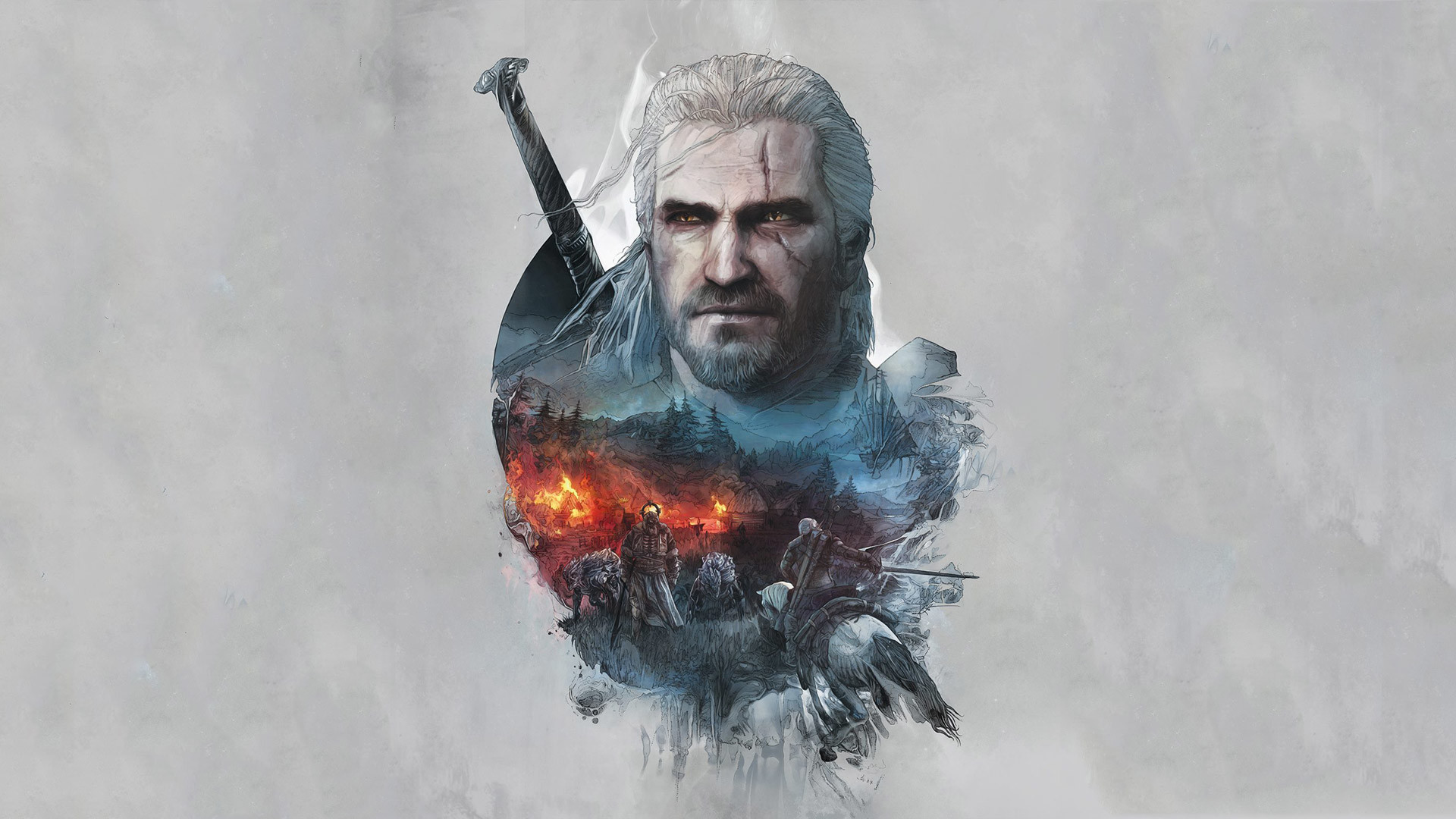 Free The Witcher 3 Wallpaper in 1920×1080