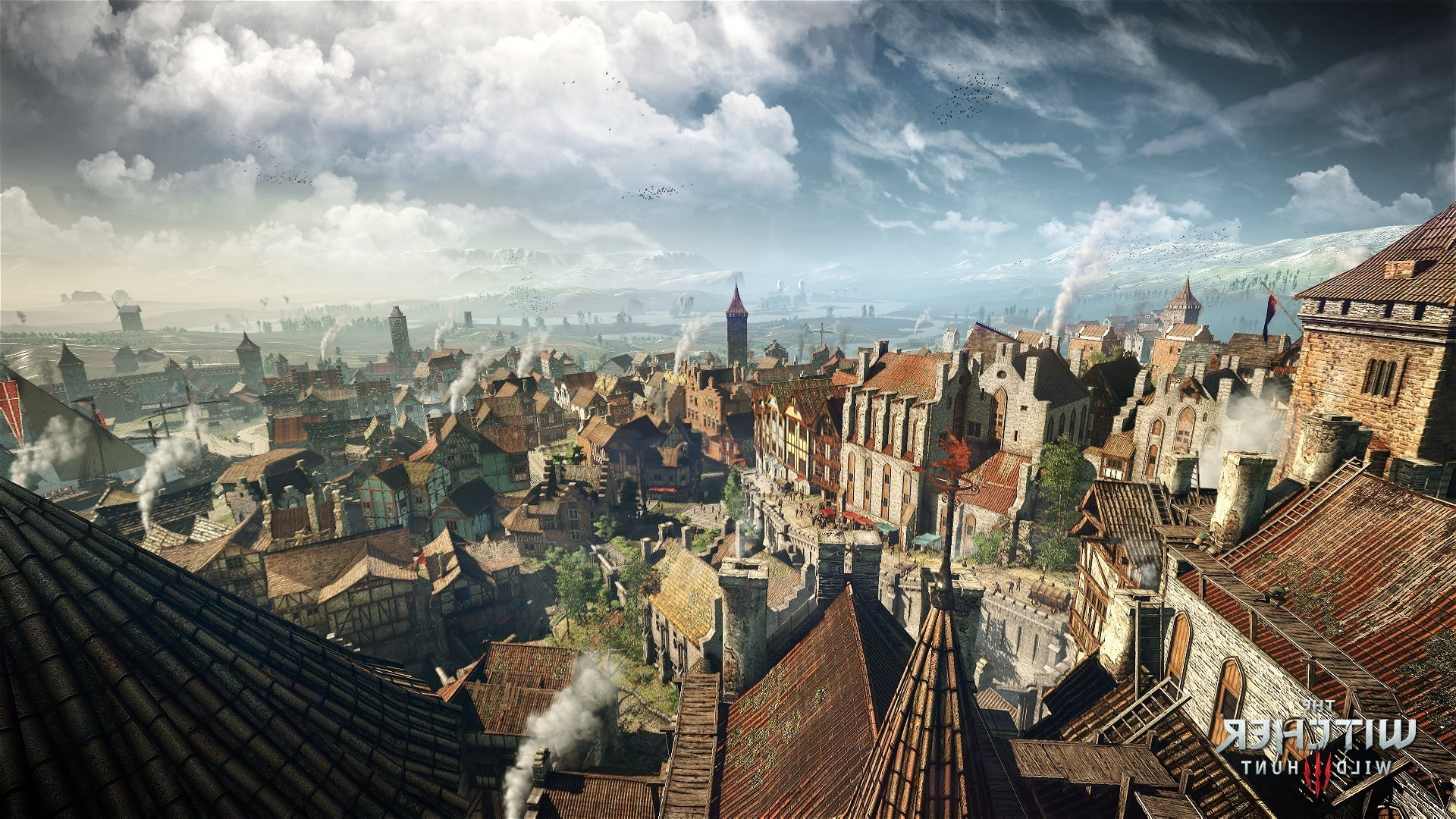 video Games, The Witcher 3: Wild Hunt, The Witcher, City, Cityscape  Wallpapers HD / Desktop and Mobile Backgrounds