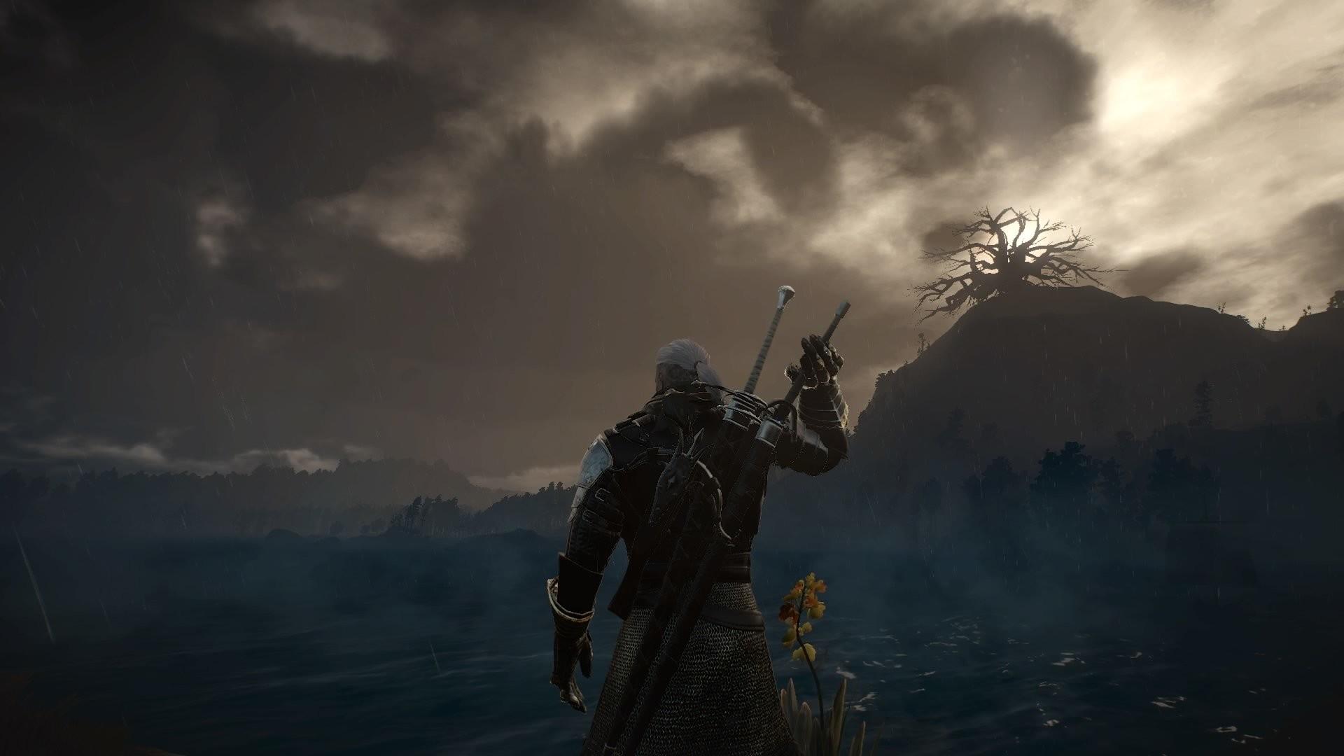 Video Game – The Witcher 3: Wild Hunt Video Game Dark Geralt of Rivia  Wallpaper