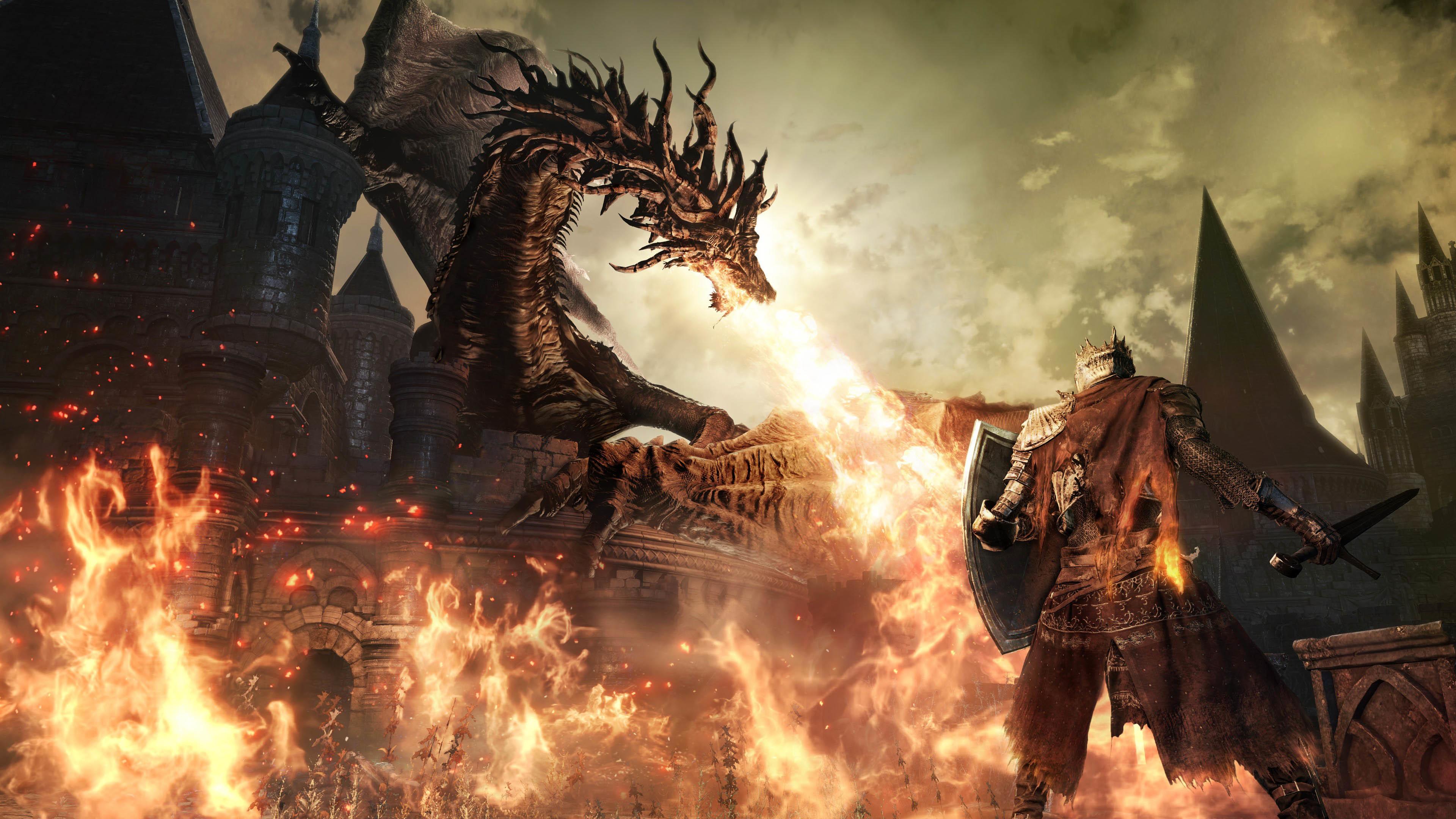 Dark Souls 3 4K wallpaper