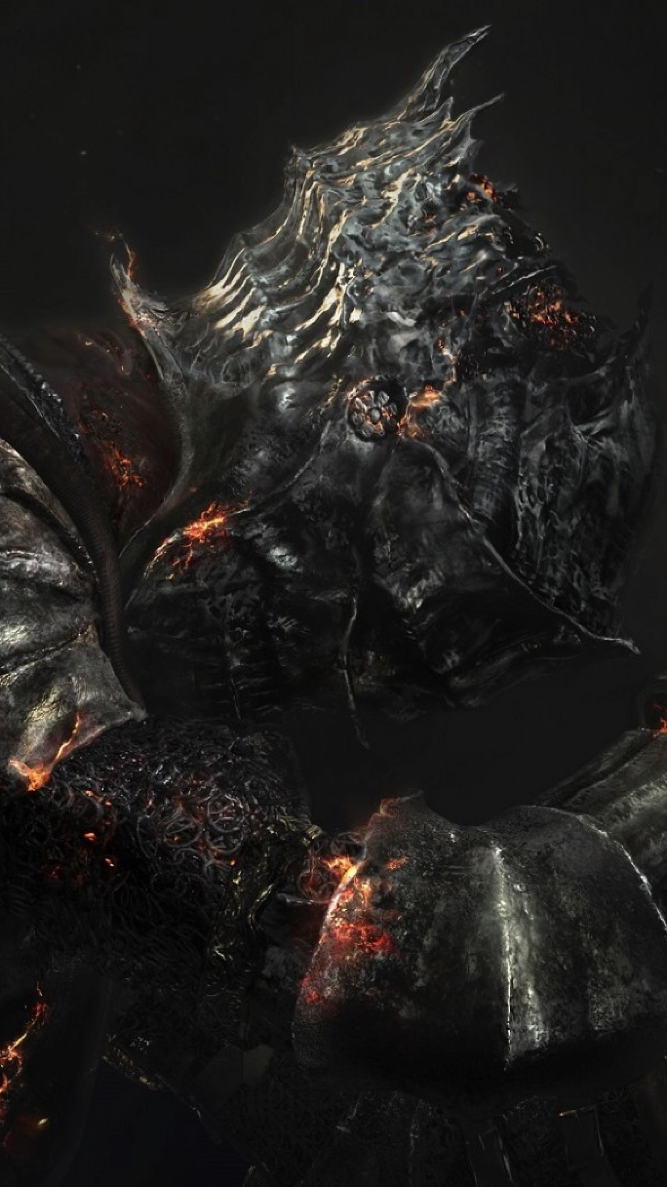 Preview wallpaper dark souls 3, dark souls iii, armor 2160×3840