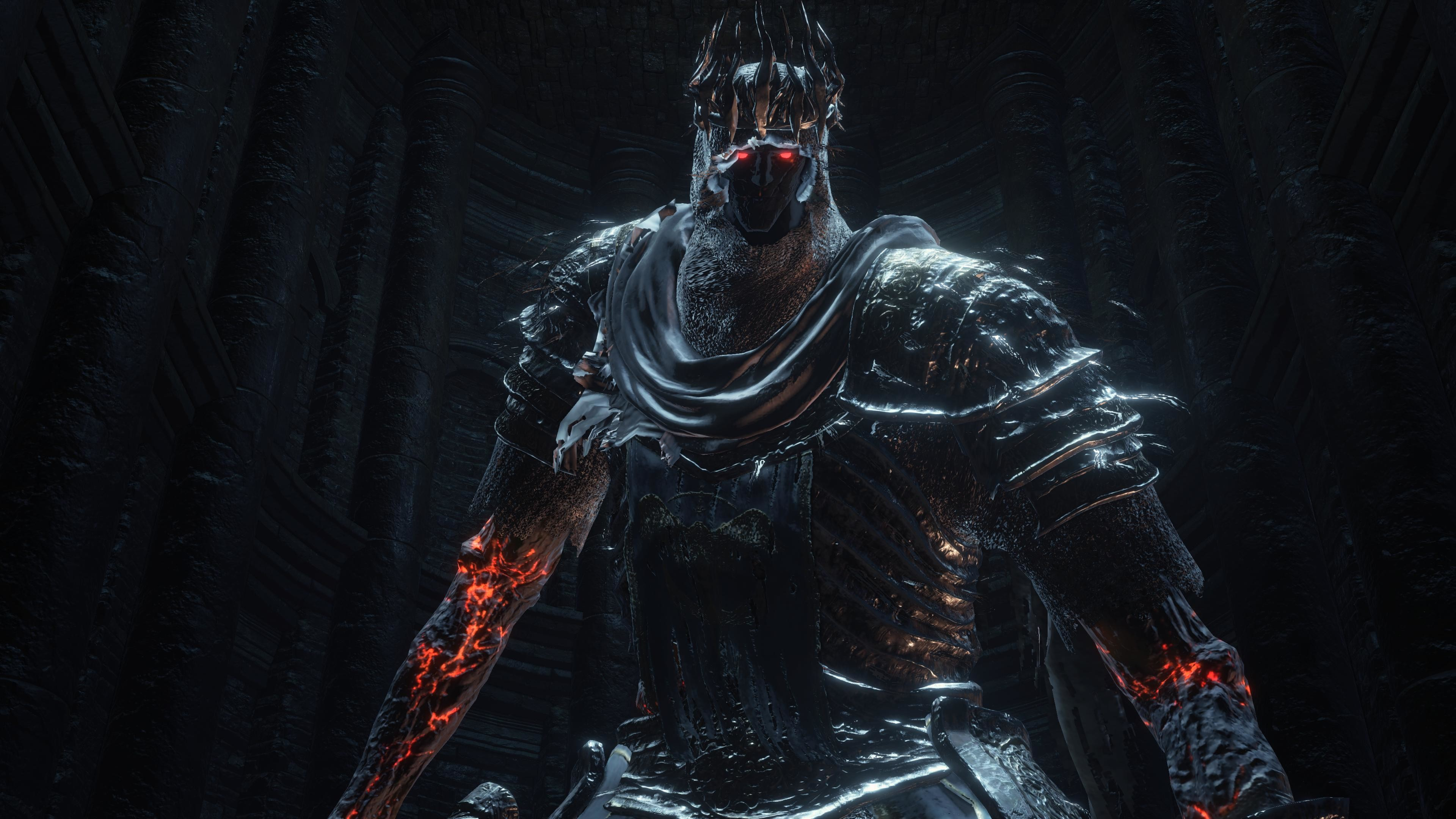 … Dark Souls 3 4K Pic 29 Yhorm the Giant 2 by user619