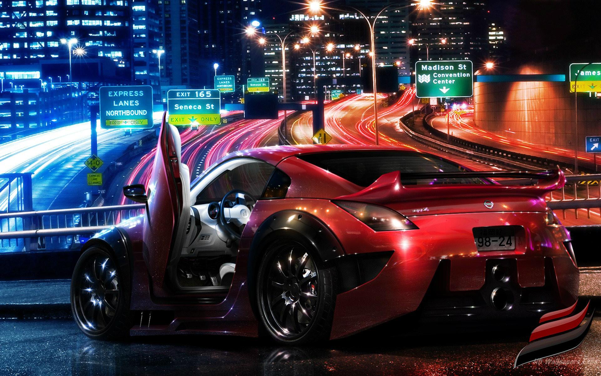 Car Racing Games Wallpaper Full HD 1080p