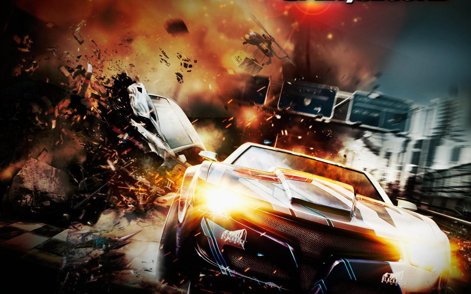 Spilt second racing game wallpaper hd widescreen.