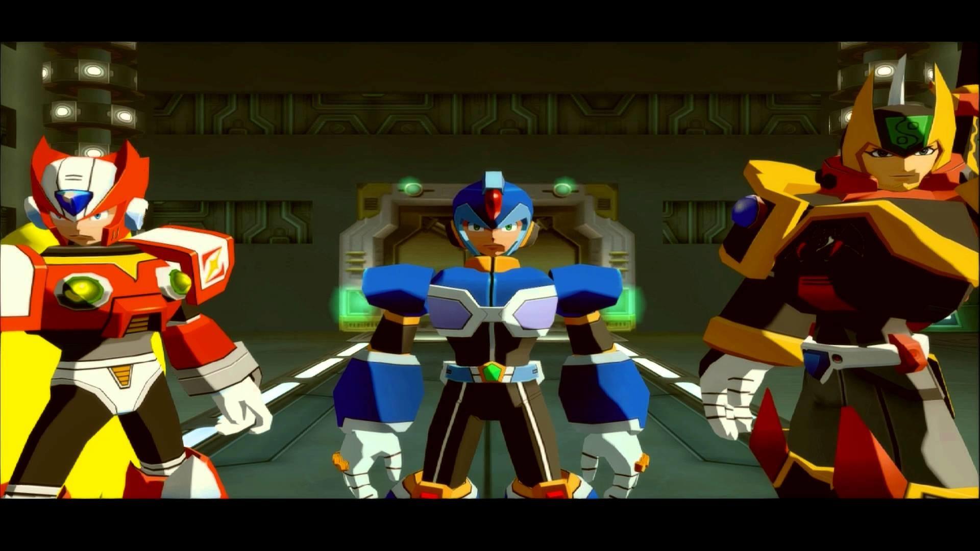 Intro Mega Man X Command Mission [HD]