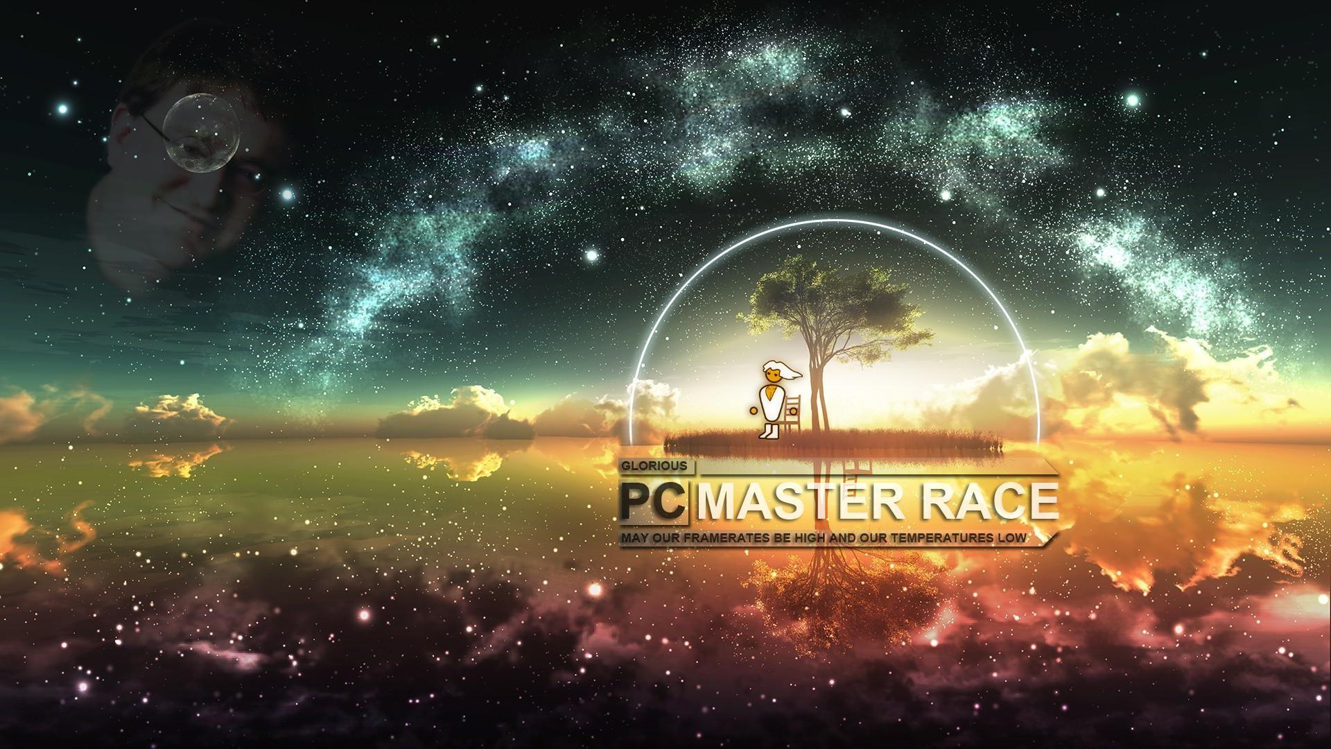 PCMR wallpapers in 4k+: https://imgur.com/gallery/doFgs