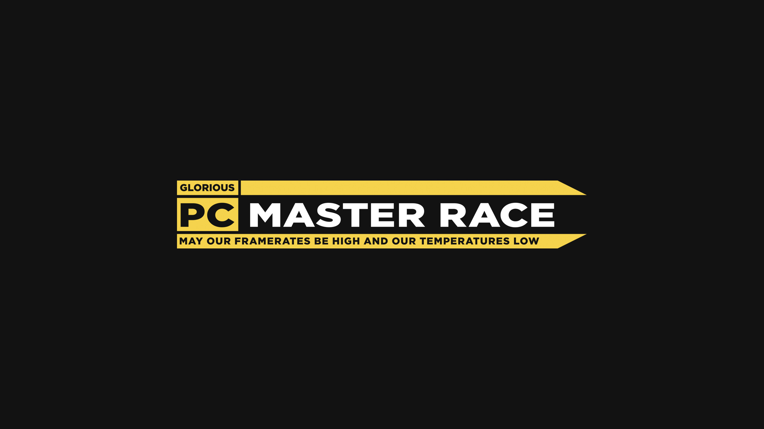 PCMR Logo [2560×1440] [xpost from r/pcmasterrace] …