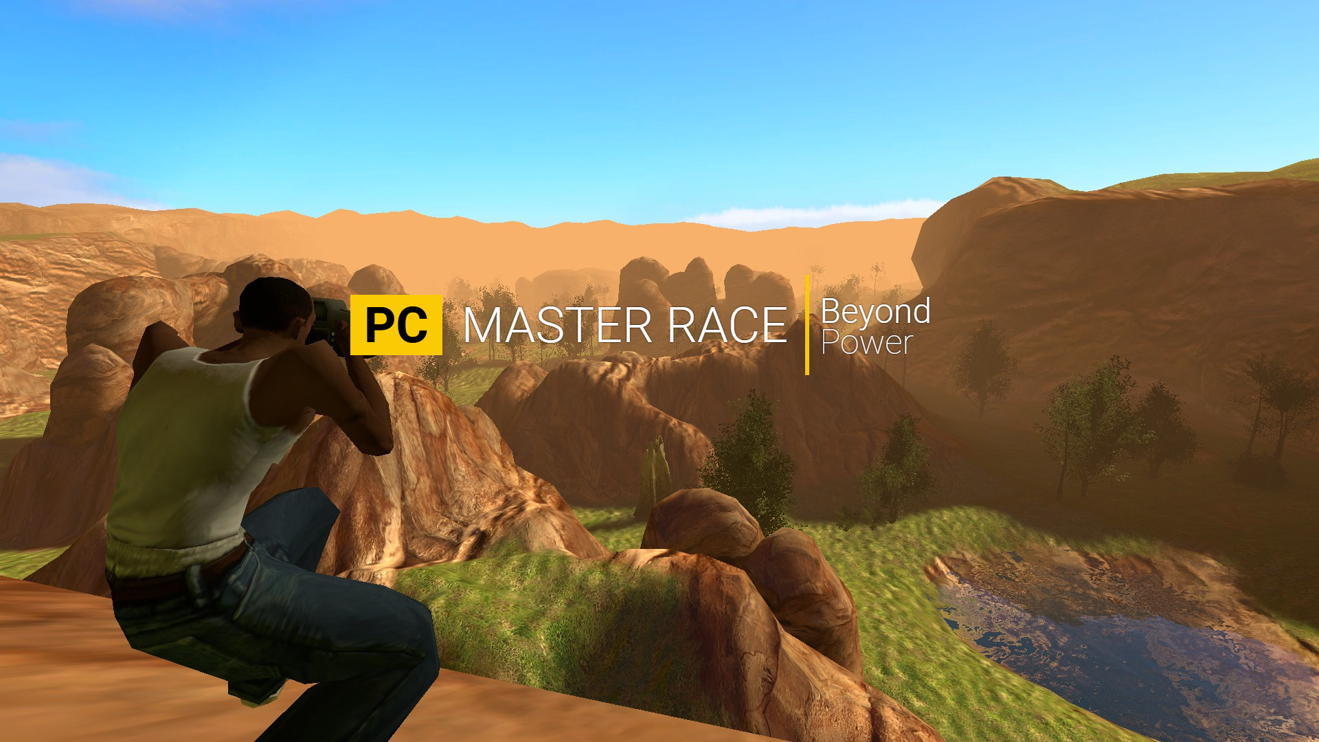 ScreenshotPC master race wallpaper …