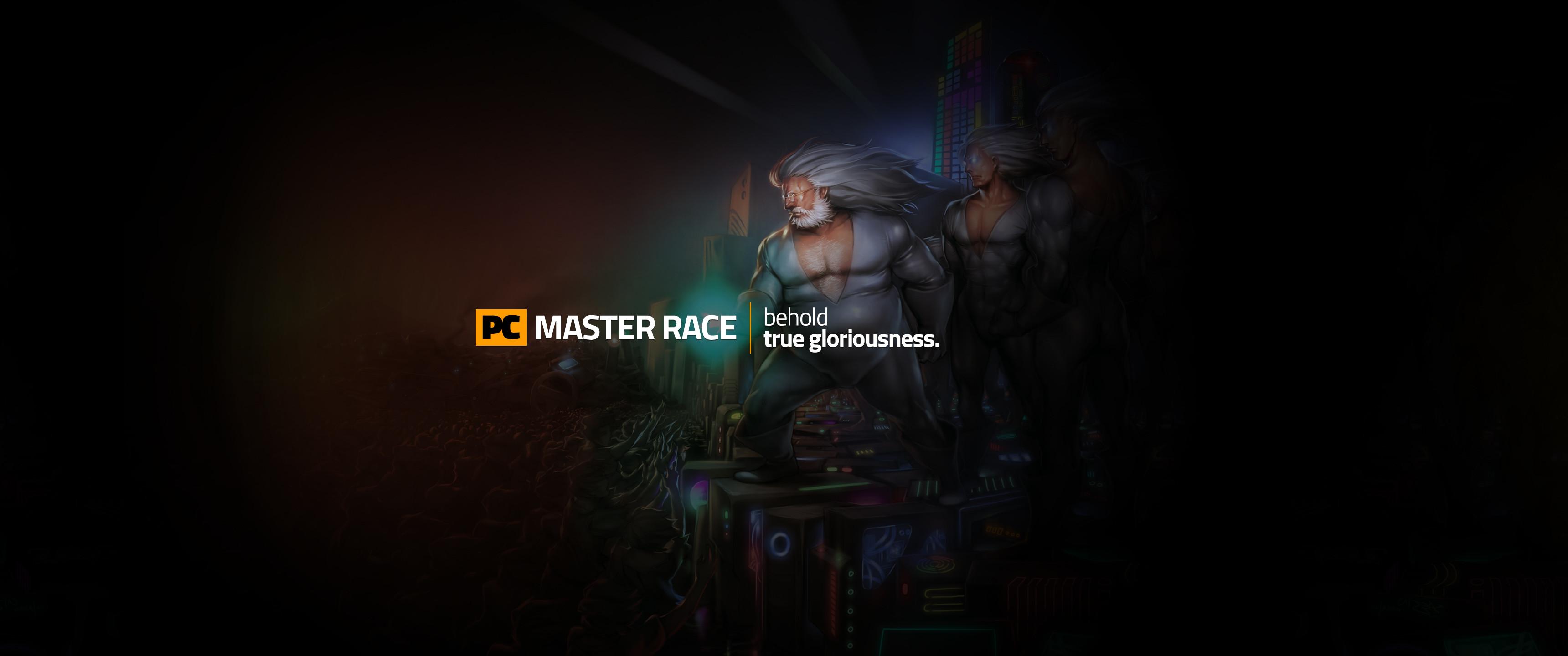 JustMasterRaceThingsPC MasterRace wallpaper [3440×1440] …