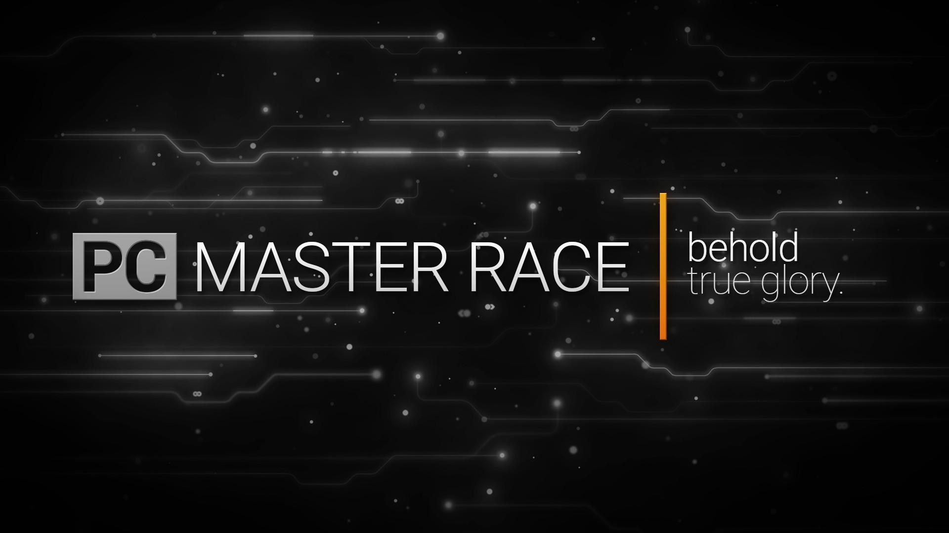 … PC Master Race black'n white wallpaper[ 1920×1080] by MarukuSensei