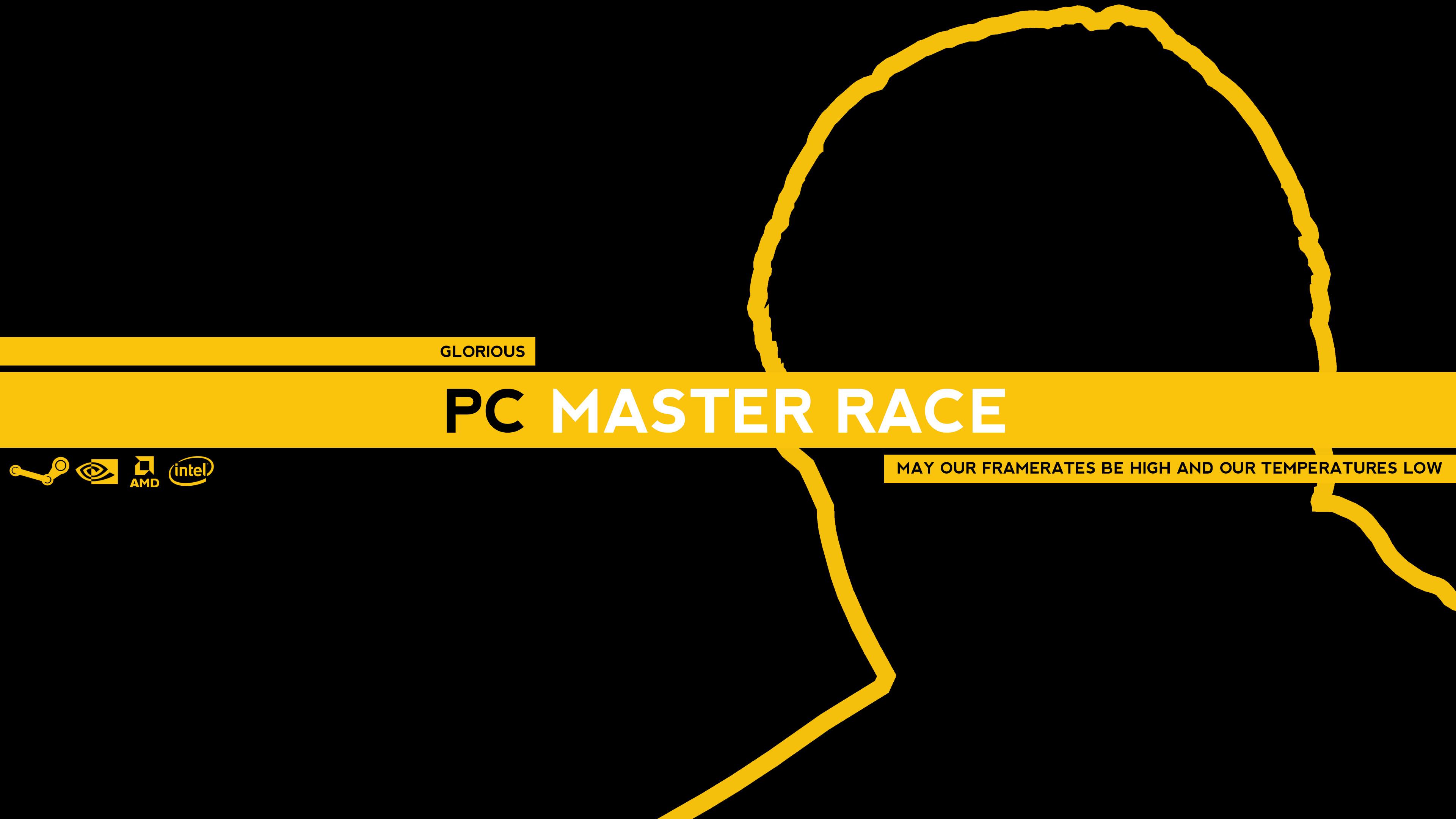 PC Gaming Master Race 4K Wallpaper