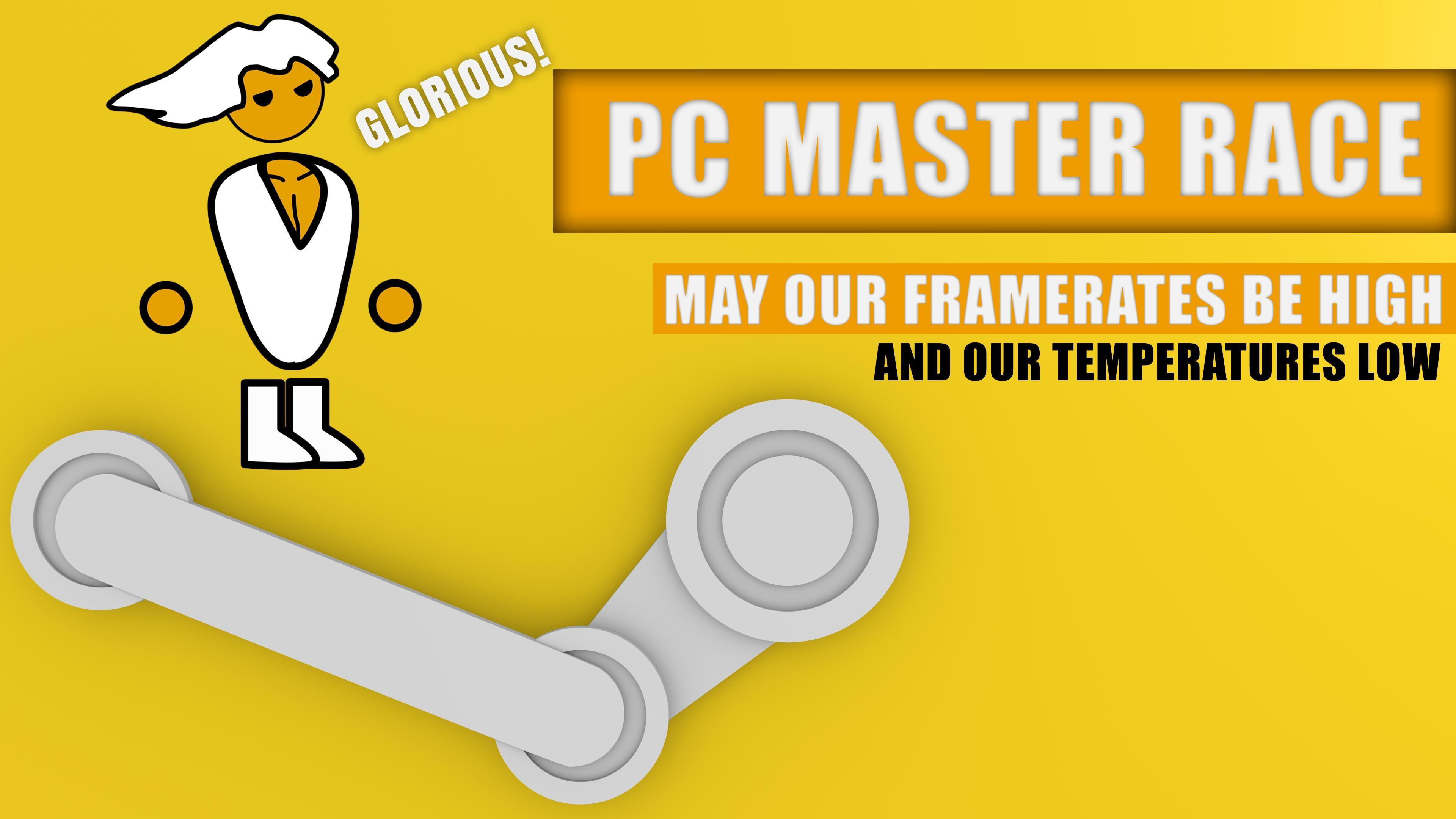 Glorious PC Master Race Wallpaper 4K