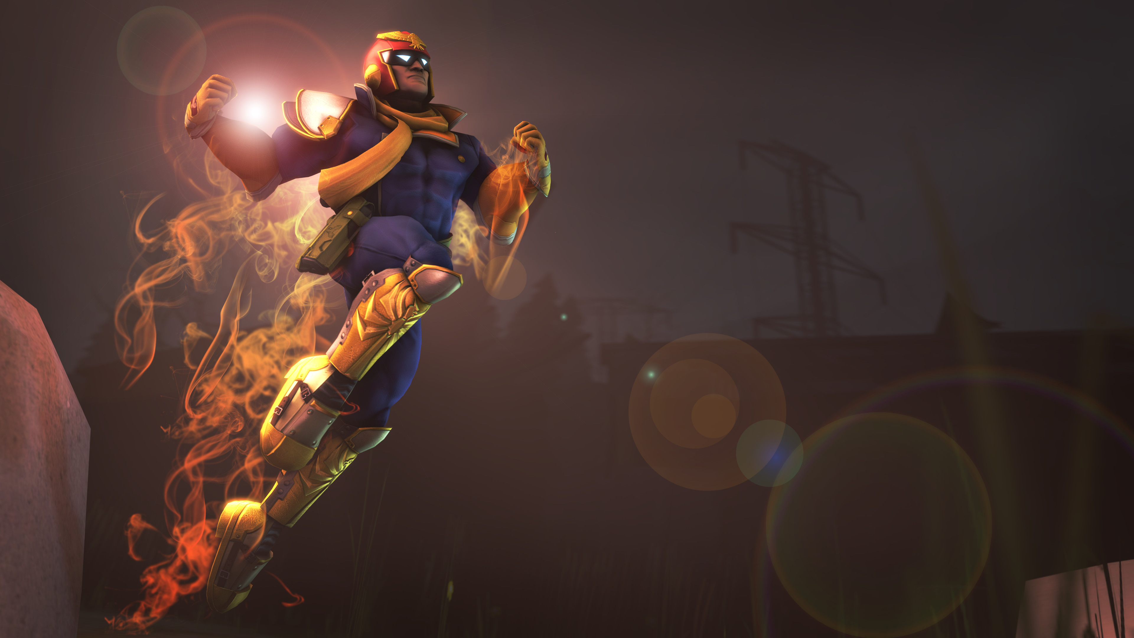 HQ render of Captain Falcon.