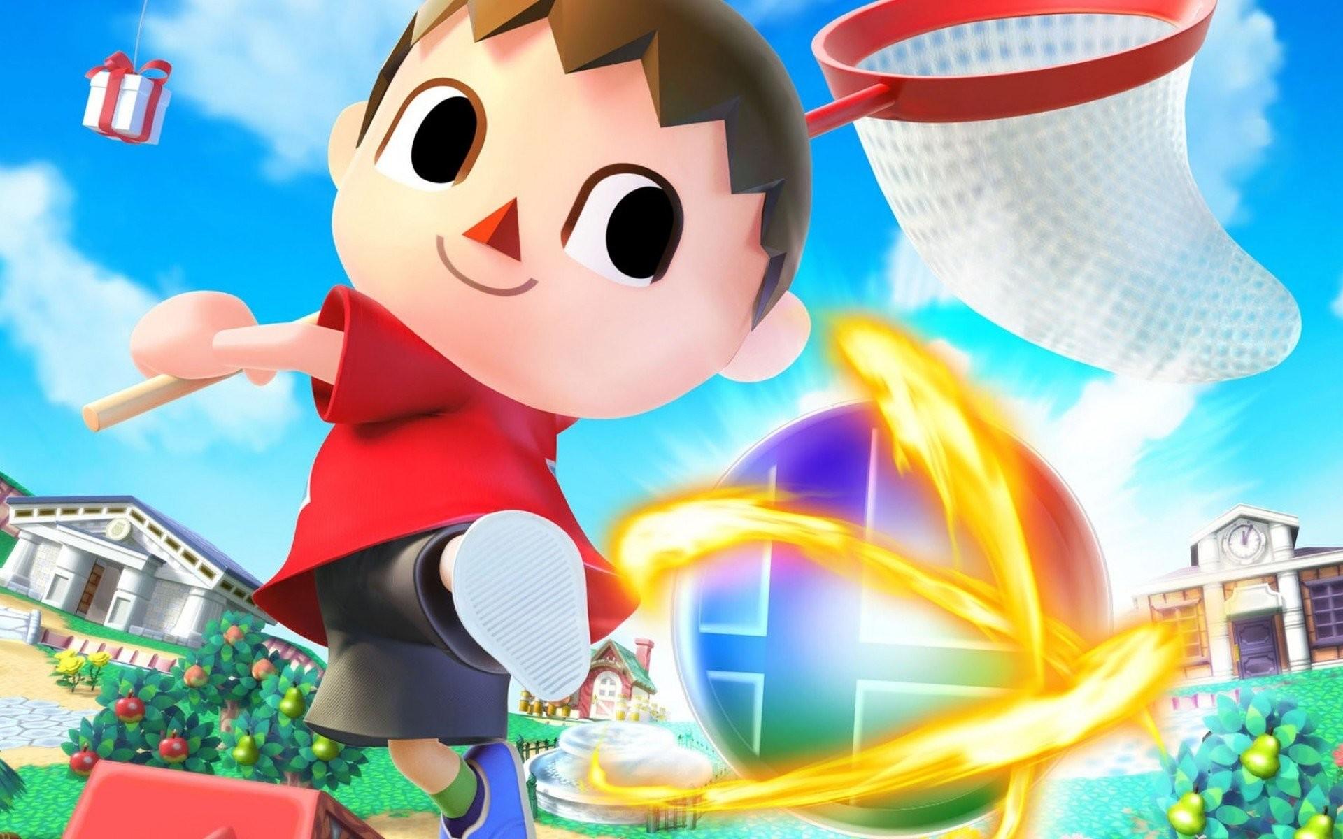 Super Smash Bros 4 Villager …