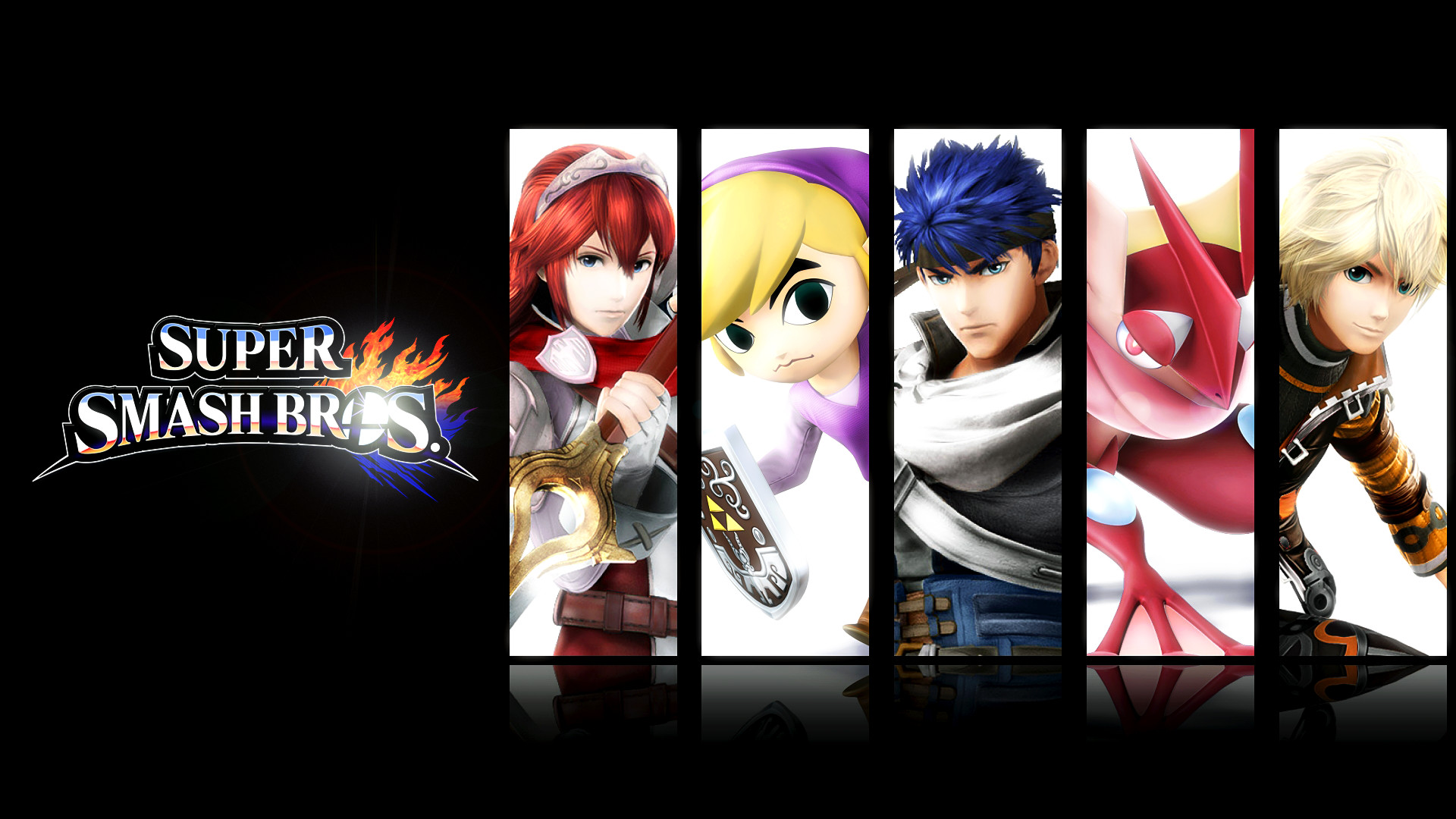 … Glench Super Smash Bros. 4 3DS and Wii U Mains Wallpaper by Glench