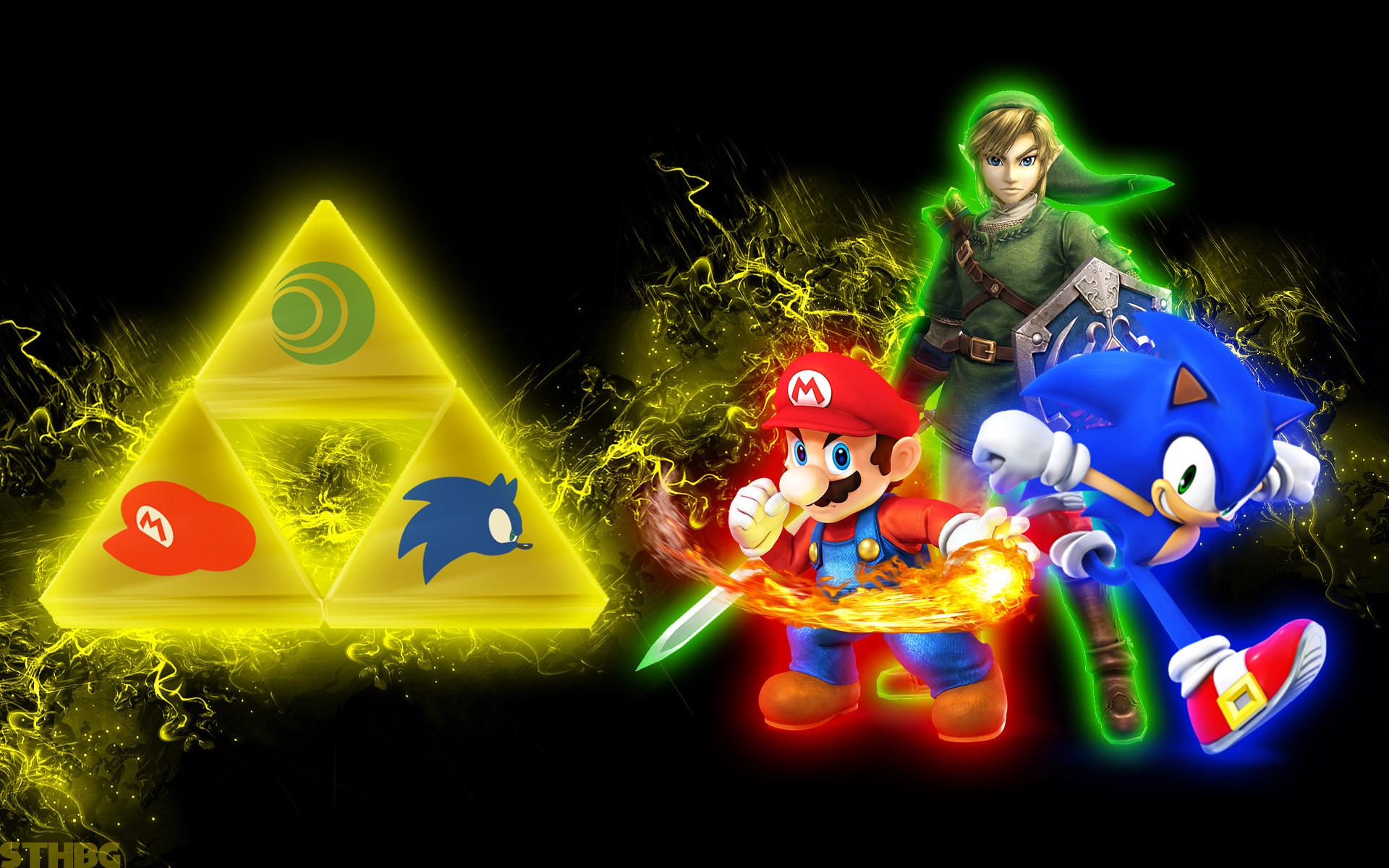 … SonicTheHedgehogBG Link,Mario And Sonic – Wallpaper by  SonicTheHedgehogBG