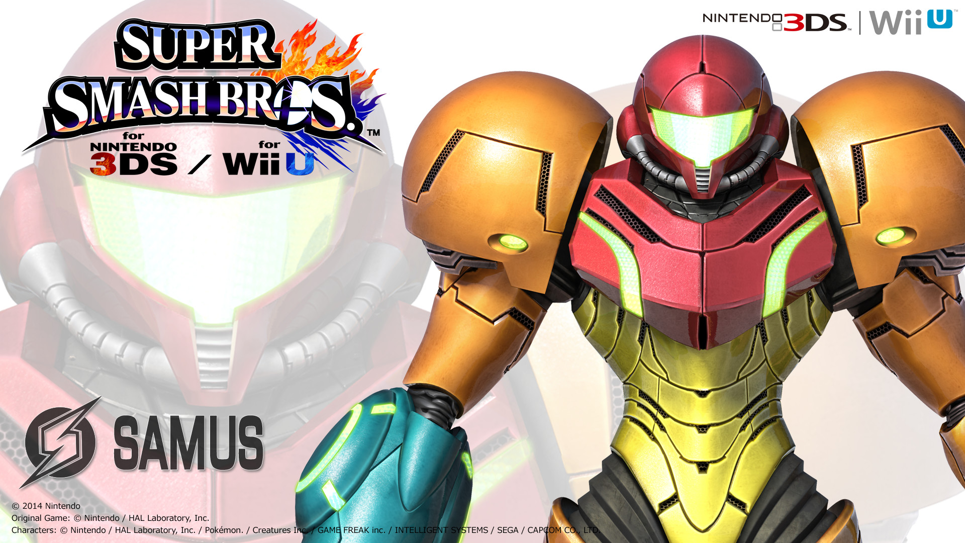 Super Smash Bros. 4: Samus Wallpaper by MasterEnex on deviantART