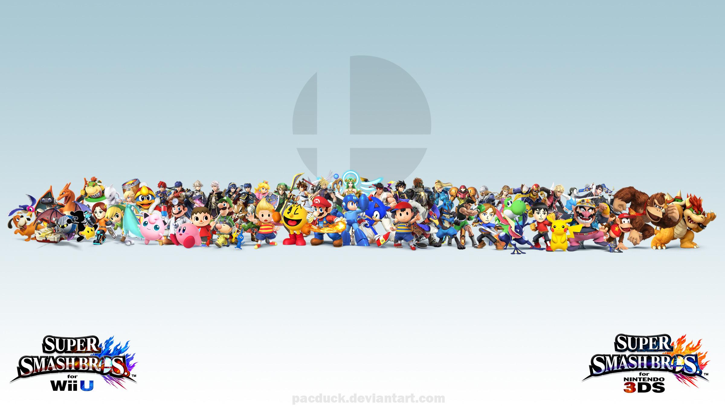 Wii U/3DS Wallpaper by PacDuck