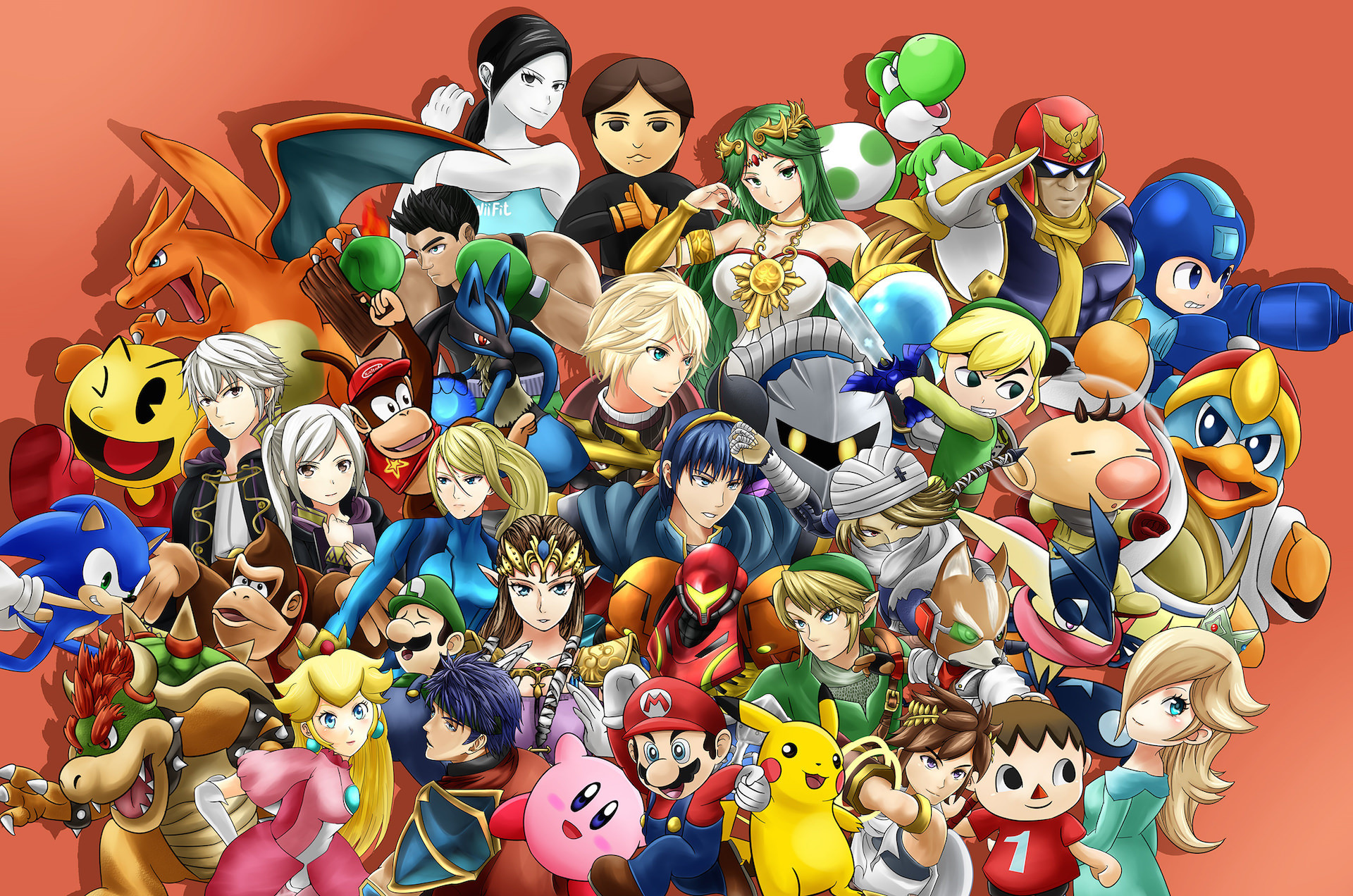 Super Smash Bros. 4 HD wallpapers #5