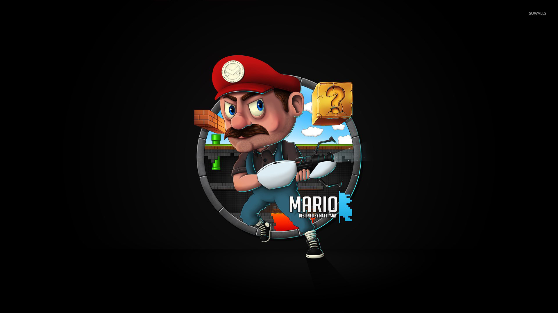 Mario [7] wallpaper