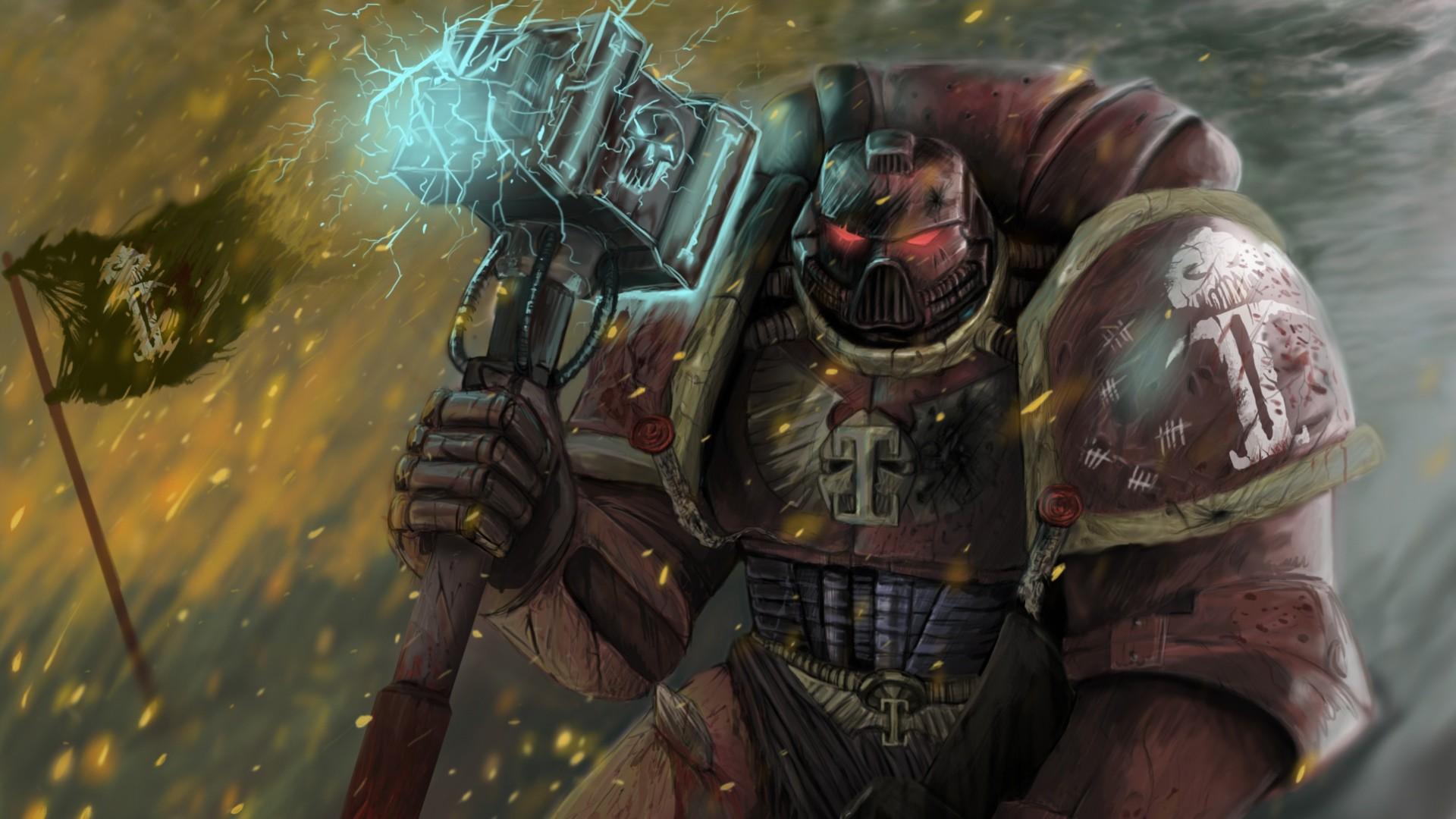 Download Wallpaper Warhammer 40k, Space marine, Game, Space .