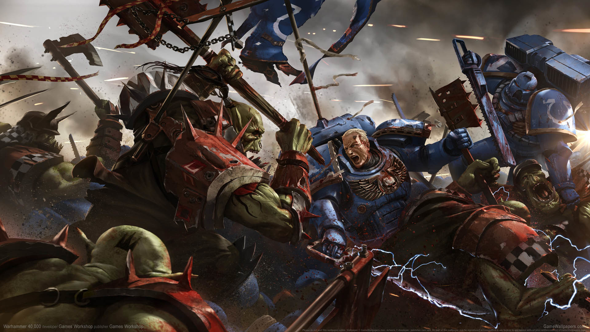 Warhammer 40,000 wallpaper 01 1920×1080
