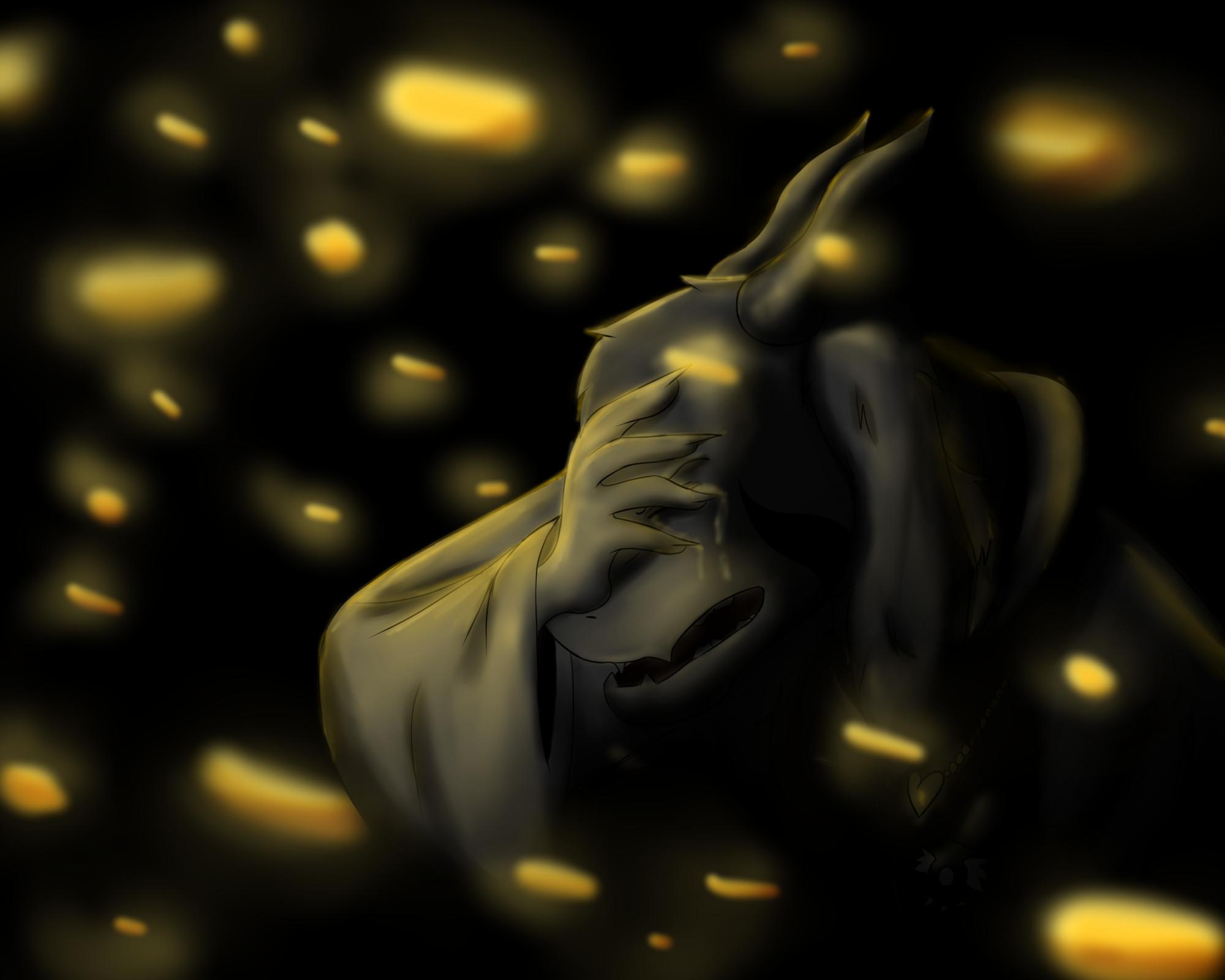… Changing – Asriel Dreemurr Undertale by Osowiala
