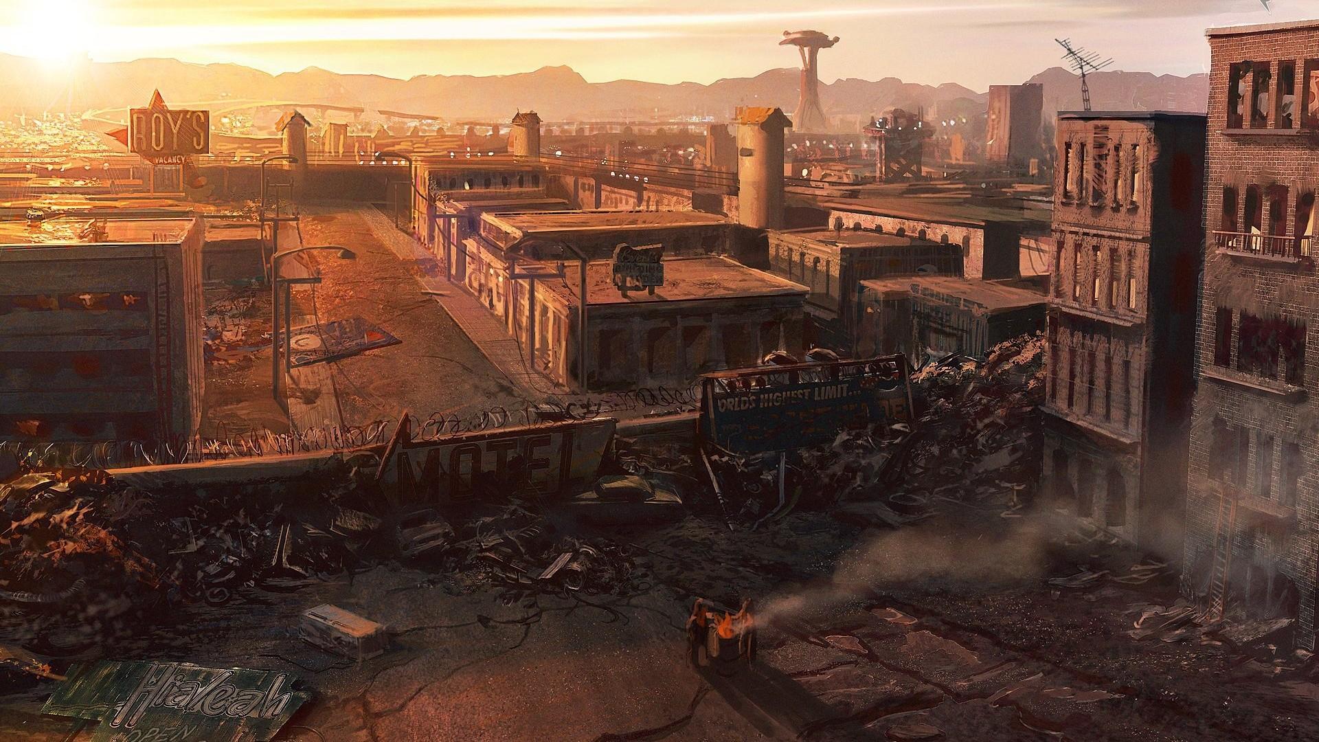Fallout: New Vegas desktop PC and Mac wallpaper